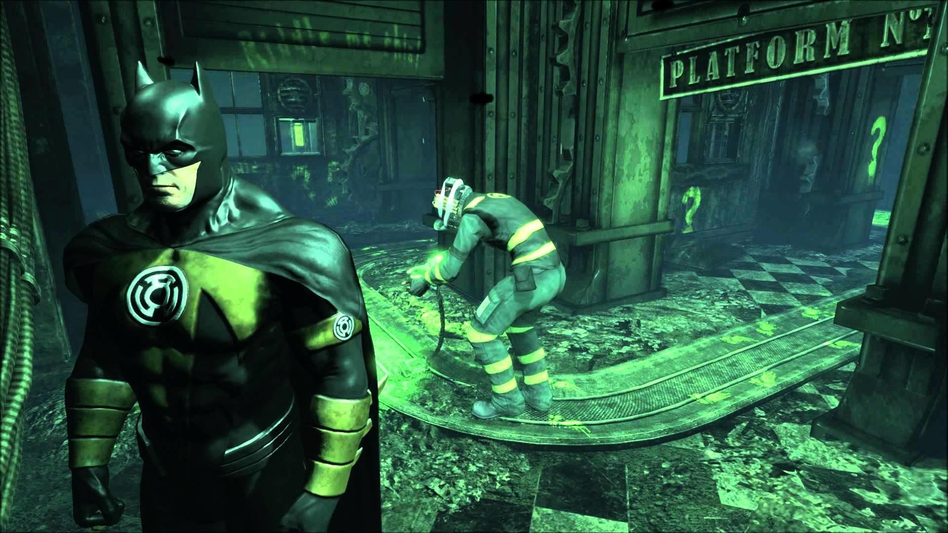 Batman Arkham City – Defeat of The Riddler