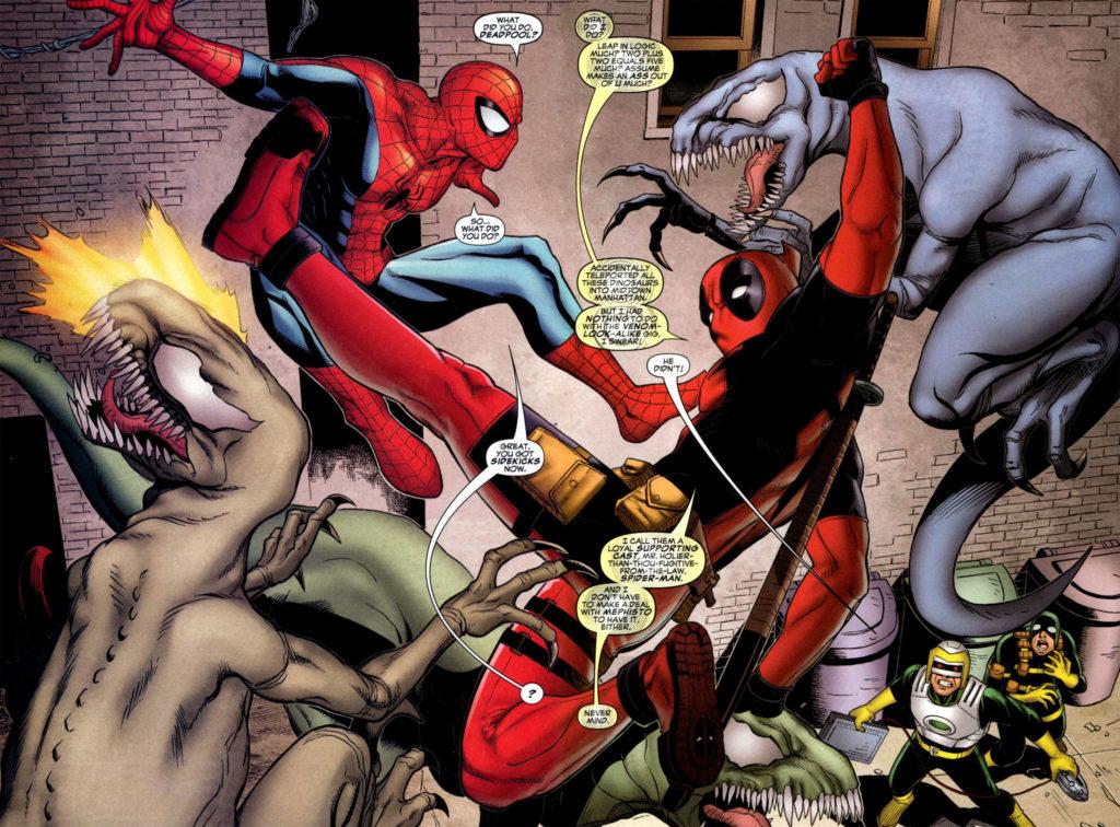 Spiderman Deadpool Wallpaper 628549