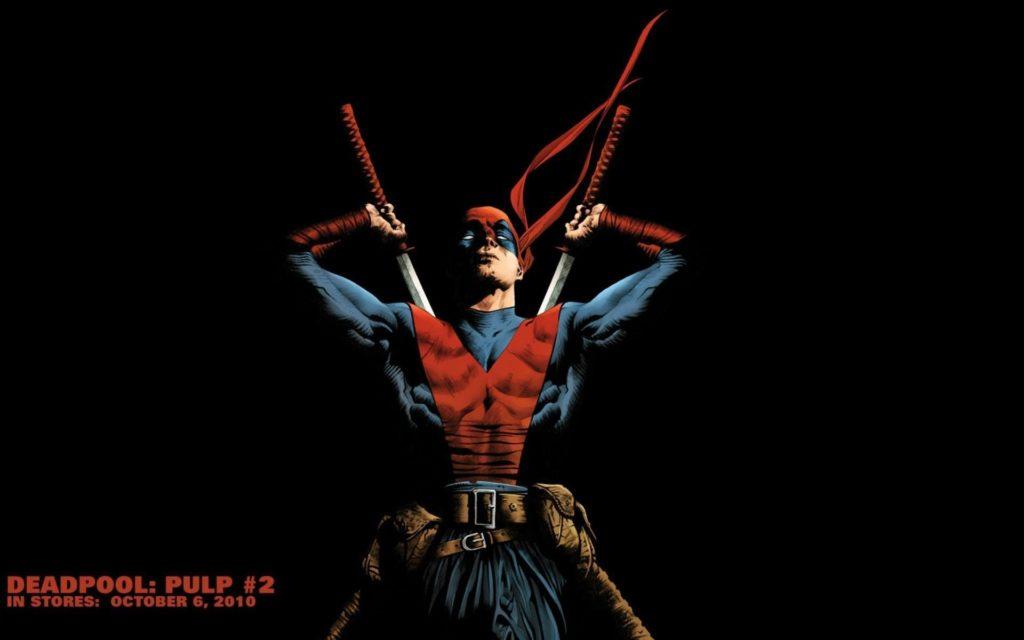 Comics – Deadpool Comic Comics Katana Marvel Comics Merc with a Mouth  Wallpaper