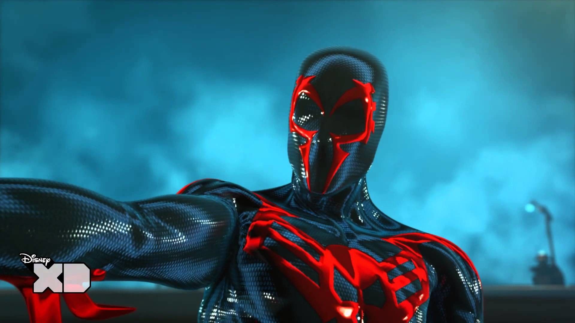 Ultimate Spider-Man: Web Warriors – Spider-Man 2099 – Official Disney XD UK  HD – YouTube