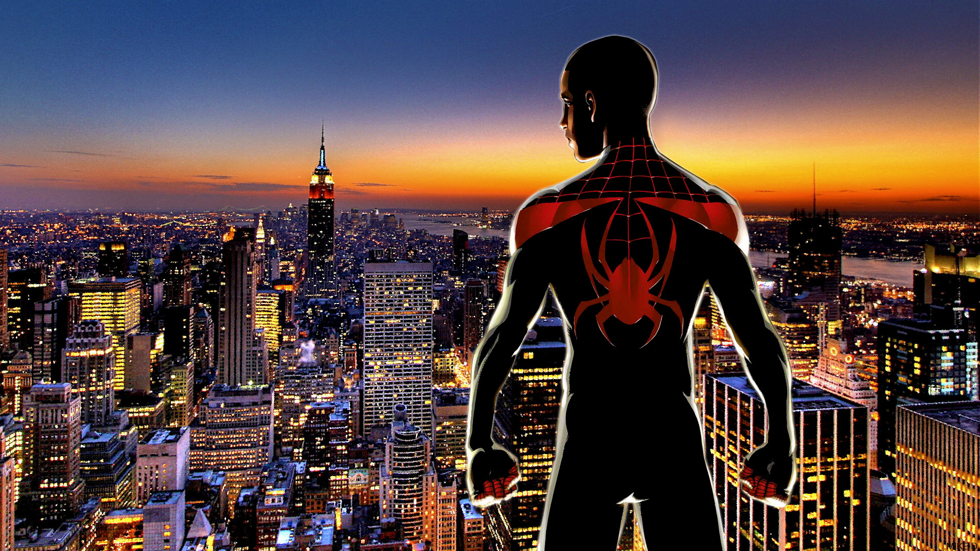 … Ultimate Spider-Man (Miles Morales) by Xionice