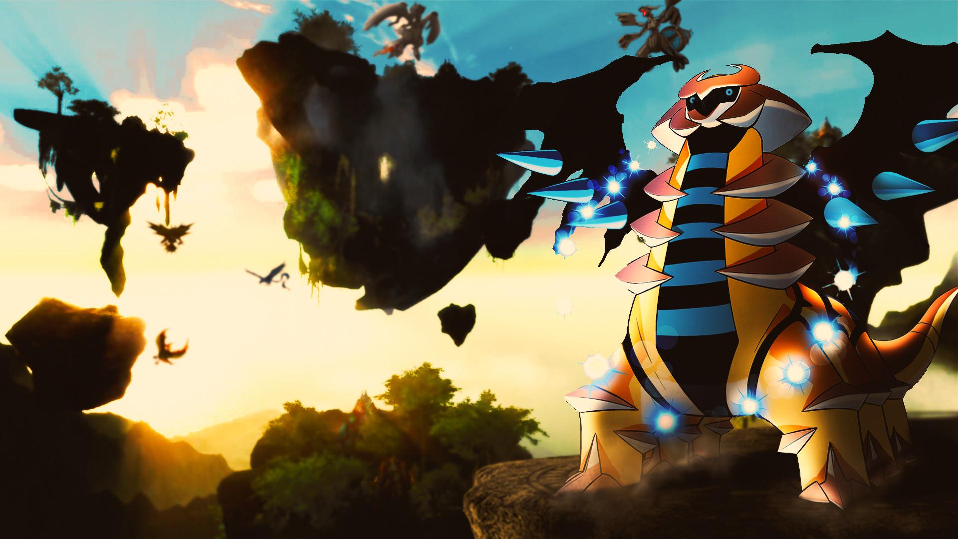 … Giratina [Altered, Shiny] – Pokemon Wallpaper by ShojiZenshin
