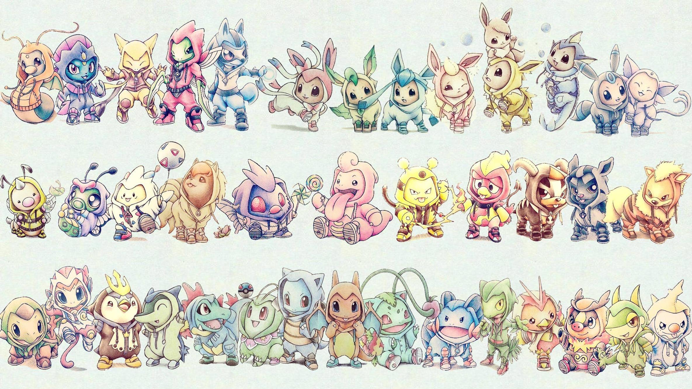 XYA new Pokemon wallpaper I put together …