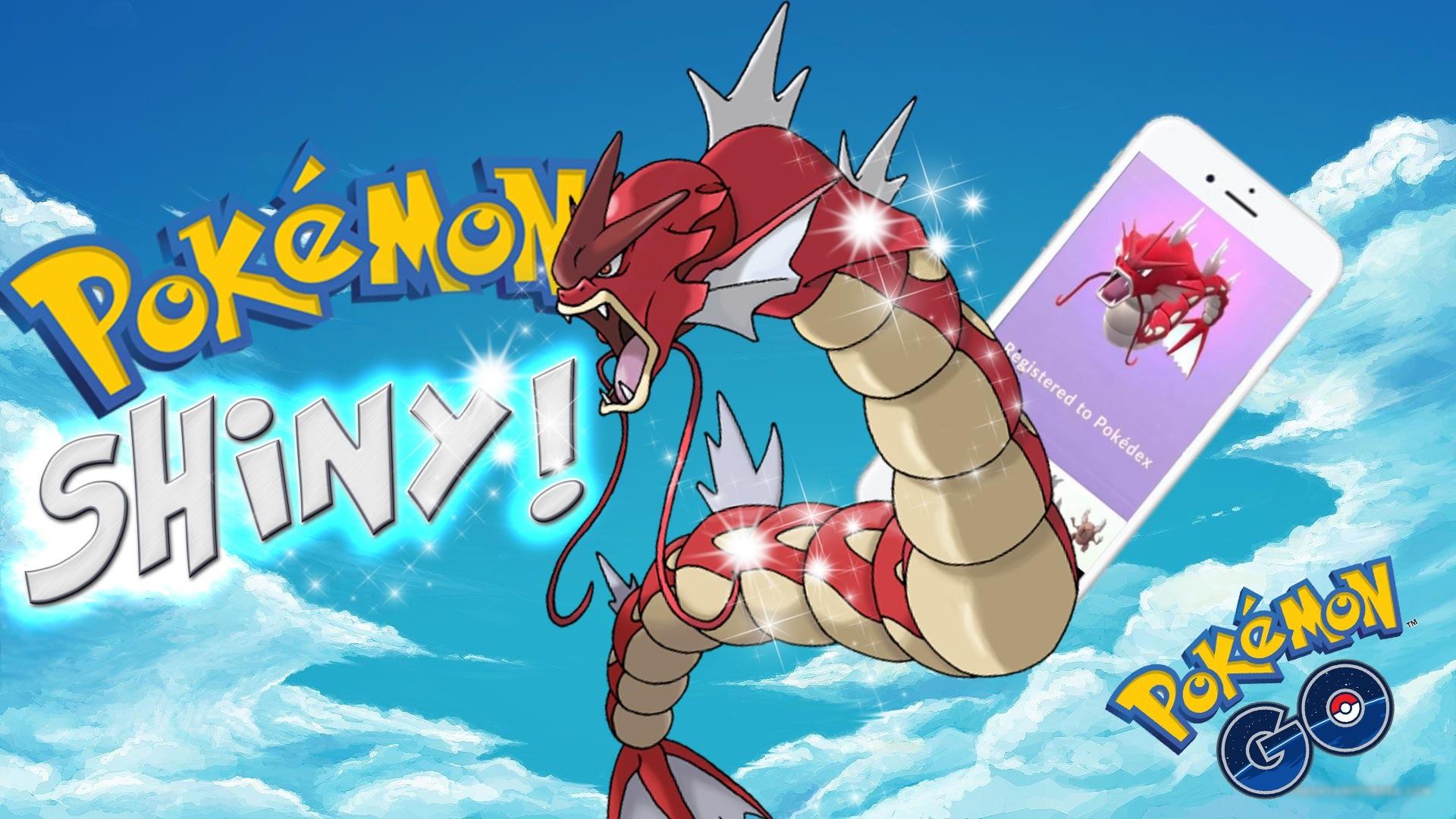 RED GYARADOS in POKEMON GO! SHINY POKEMON!