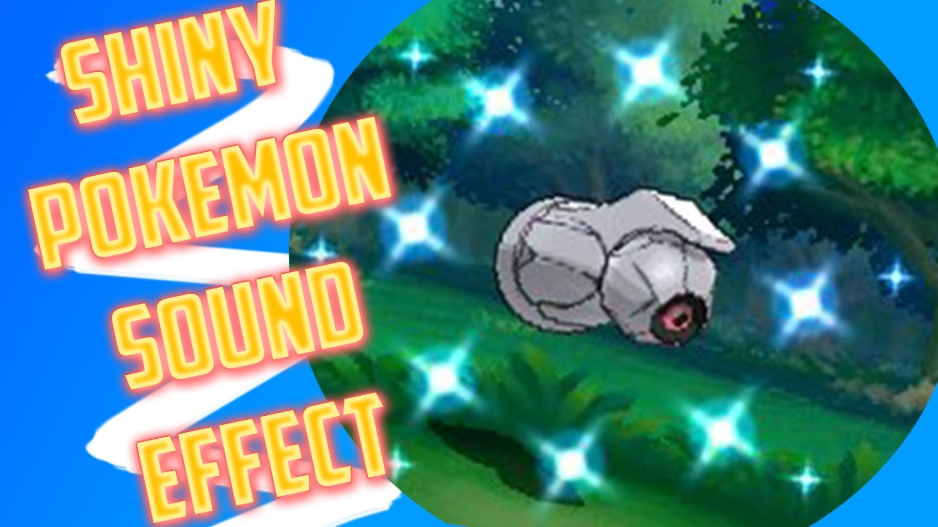 Shiny Pokemon Sound Effect (Gen 6)