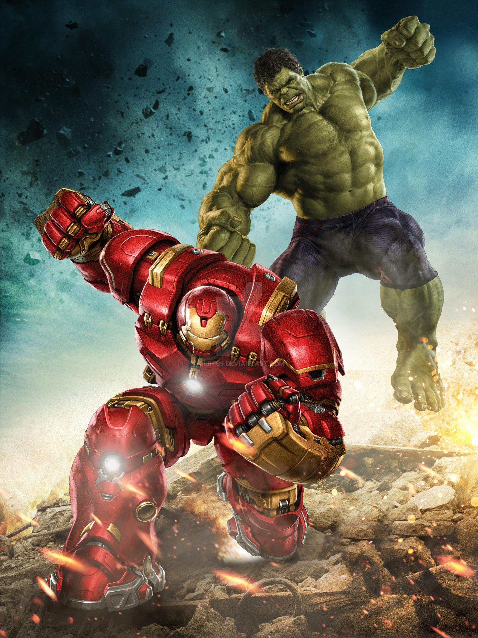 hulk vs hulkbuster by bijit69 watch fan art wallpaper movies tv 2015 .