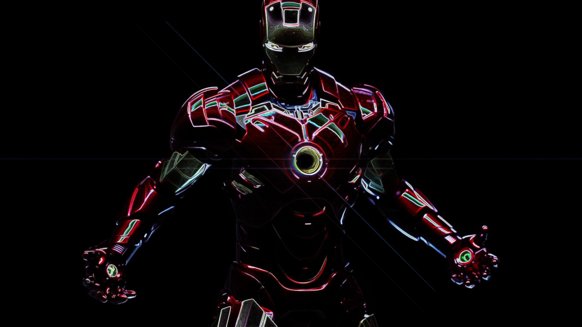 … Attachment for HD Wallpapers 1080p with Superheroes – Iron Man (7 of  23) …