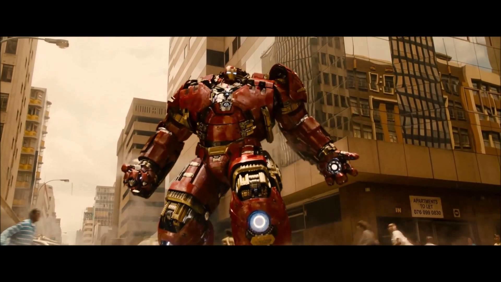 The Avengers Age Of Ultron : HulkBuster Vs The Hulk