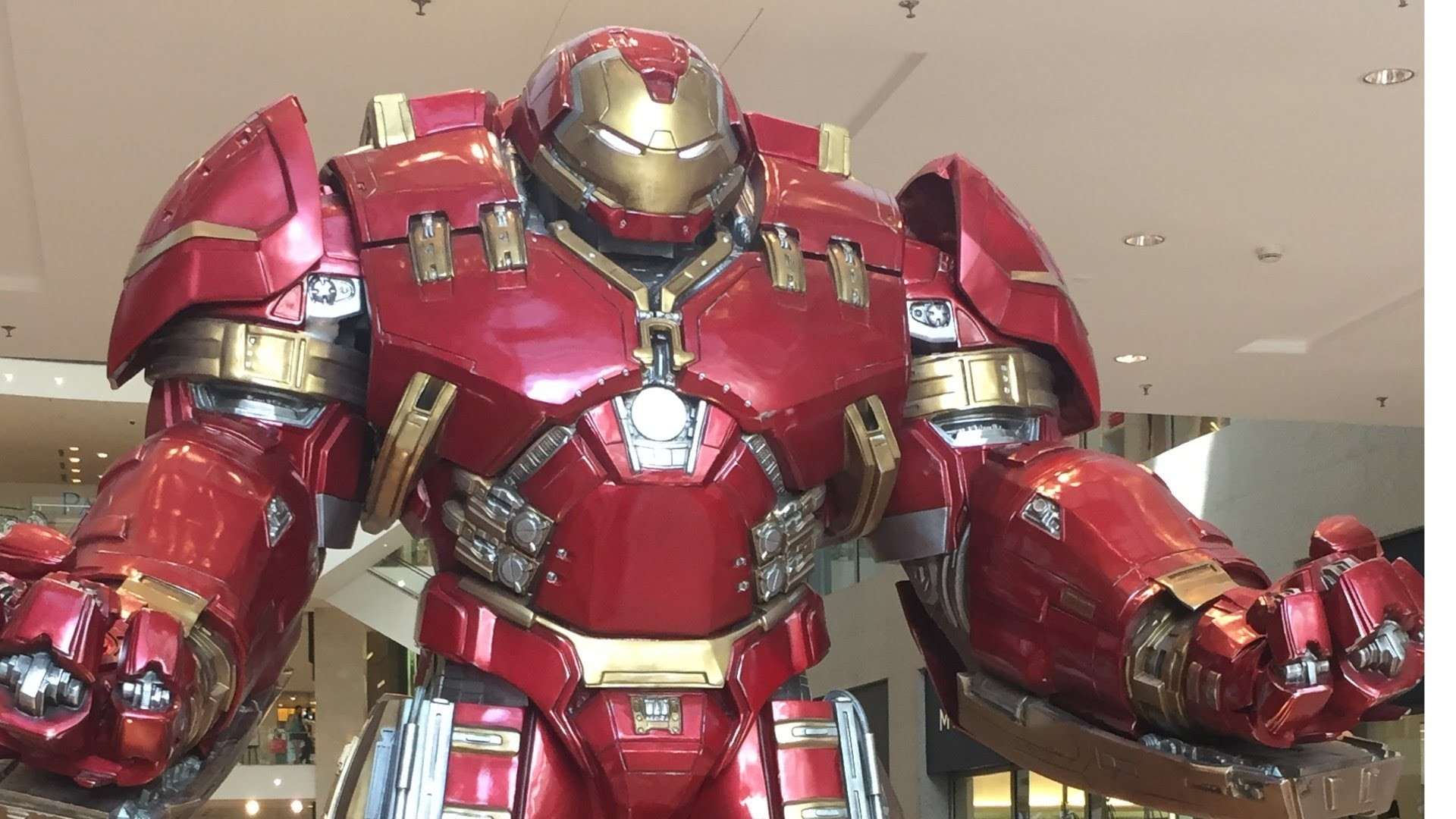 Iron Man From The Avengers Age of Ultron in Hulkbuster Armour