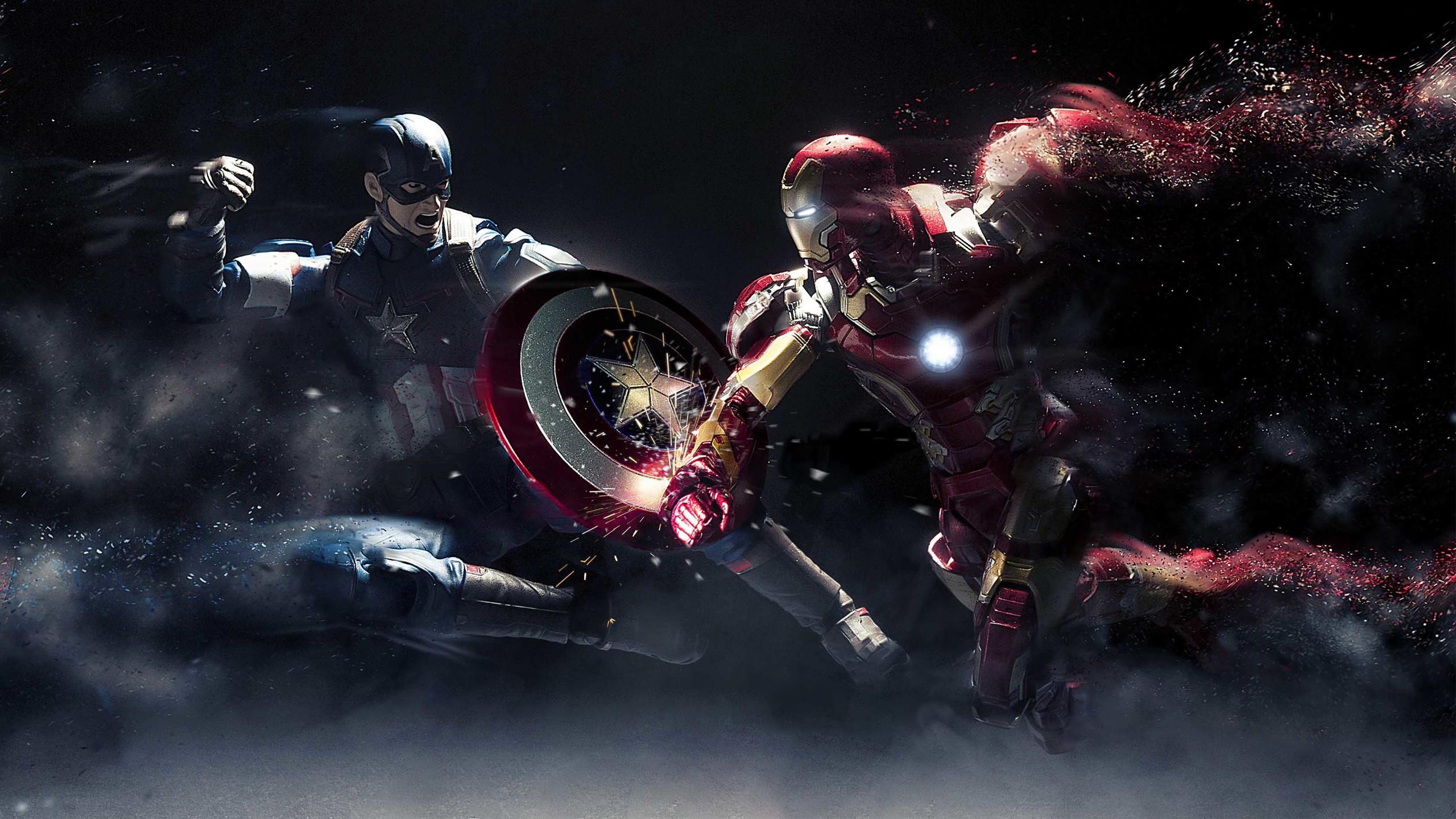 Captain America Civil War 2016 Wallpapers Ultra HD for desktop background.