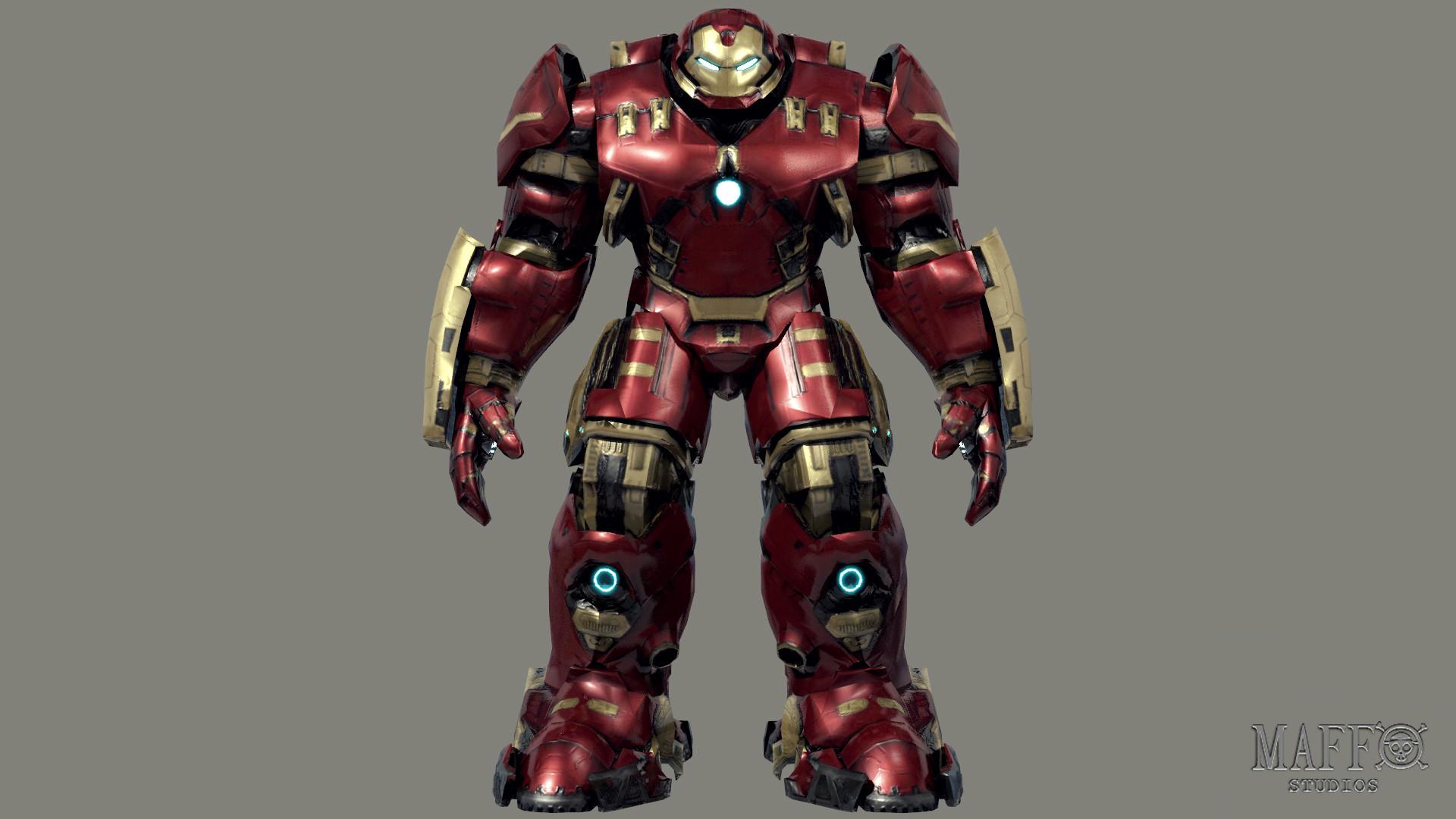 … Iron-man Hulkbuster-Mark 44 NEW by MattiaRuffo