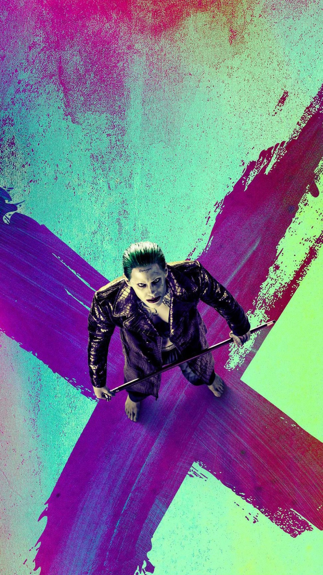 Suicide Squad Joker X iPhone 6+ HD Wallpaper …