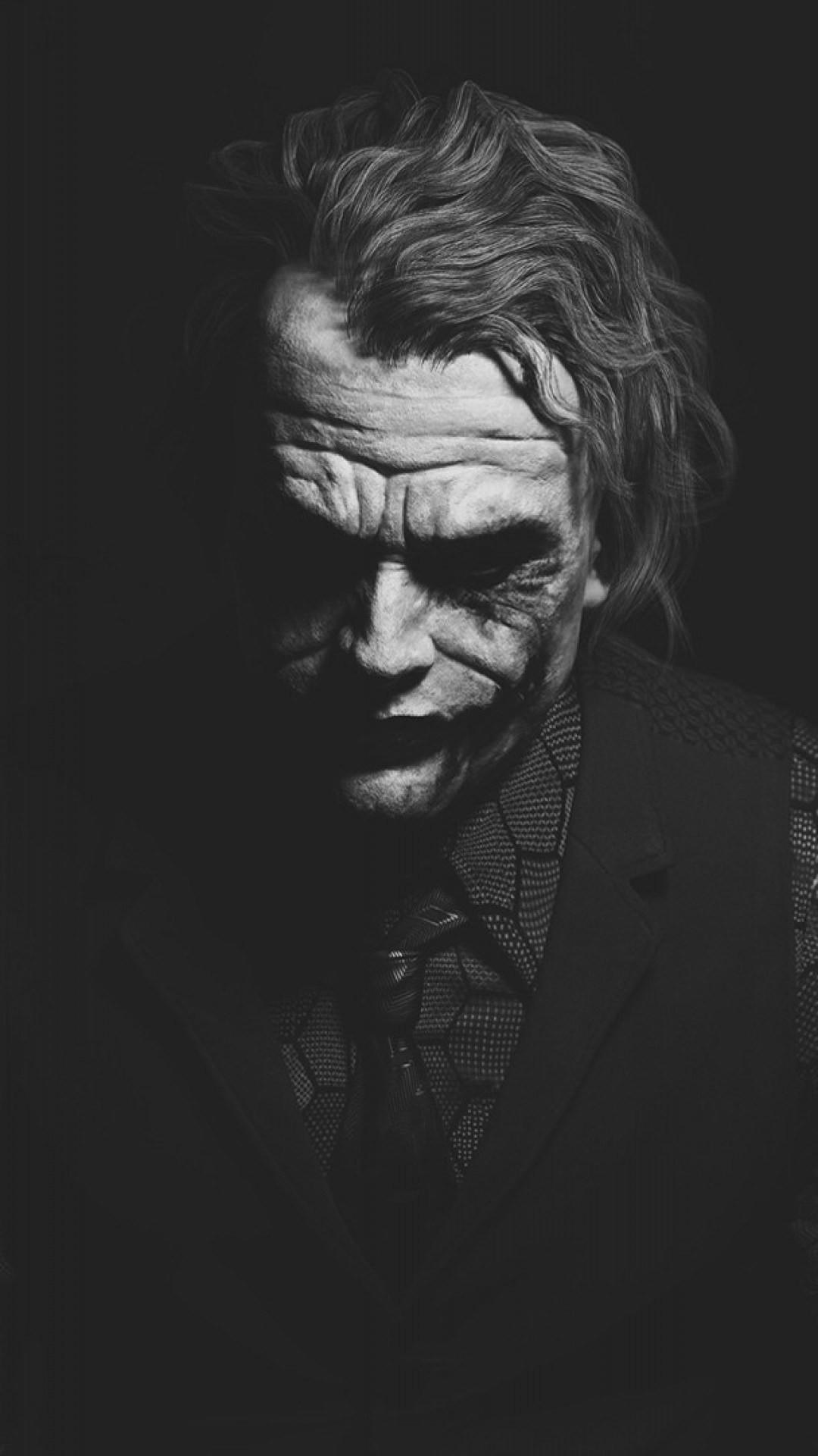Heath Ledger Joker Monochrome Batman. Joker Hd Wallpapers For  Iphone