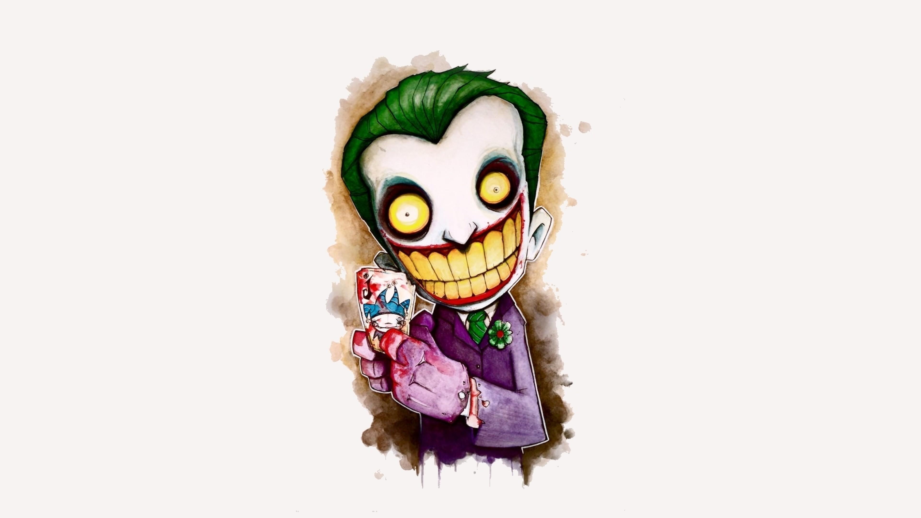 Preview wallpaper joker, game, cheater, smile 3840×2160