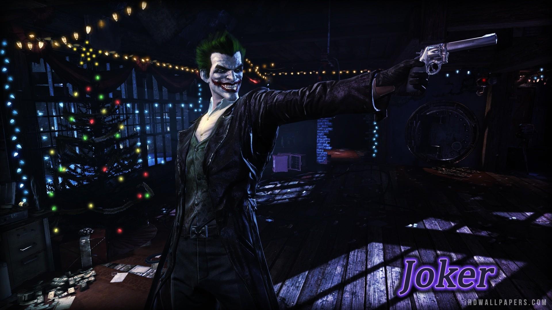 Batman Arkham Origins Joker HD Wallpaper – iHD Wallpapers