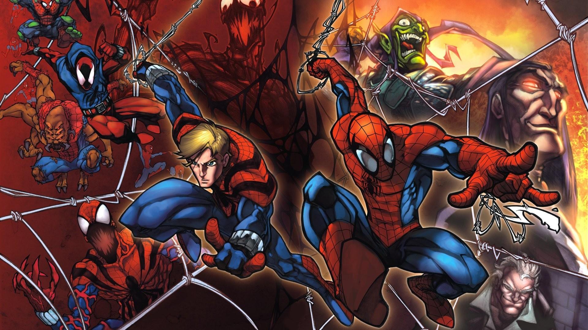 Comics – Clone Saga Spider-Man Green Goblin Wallpaper