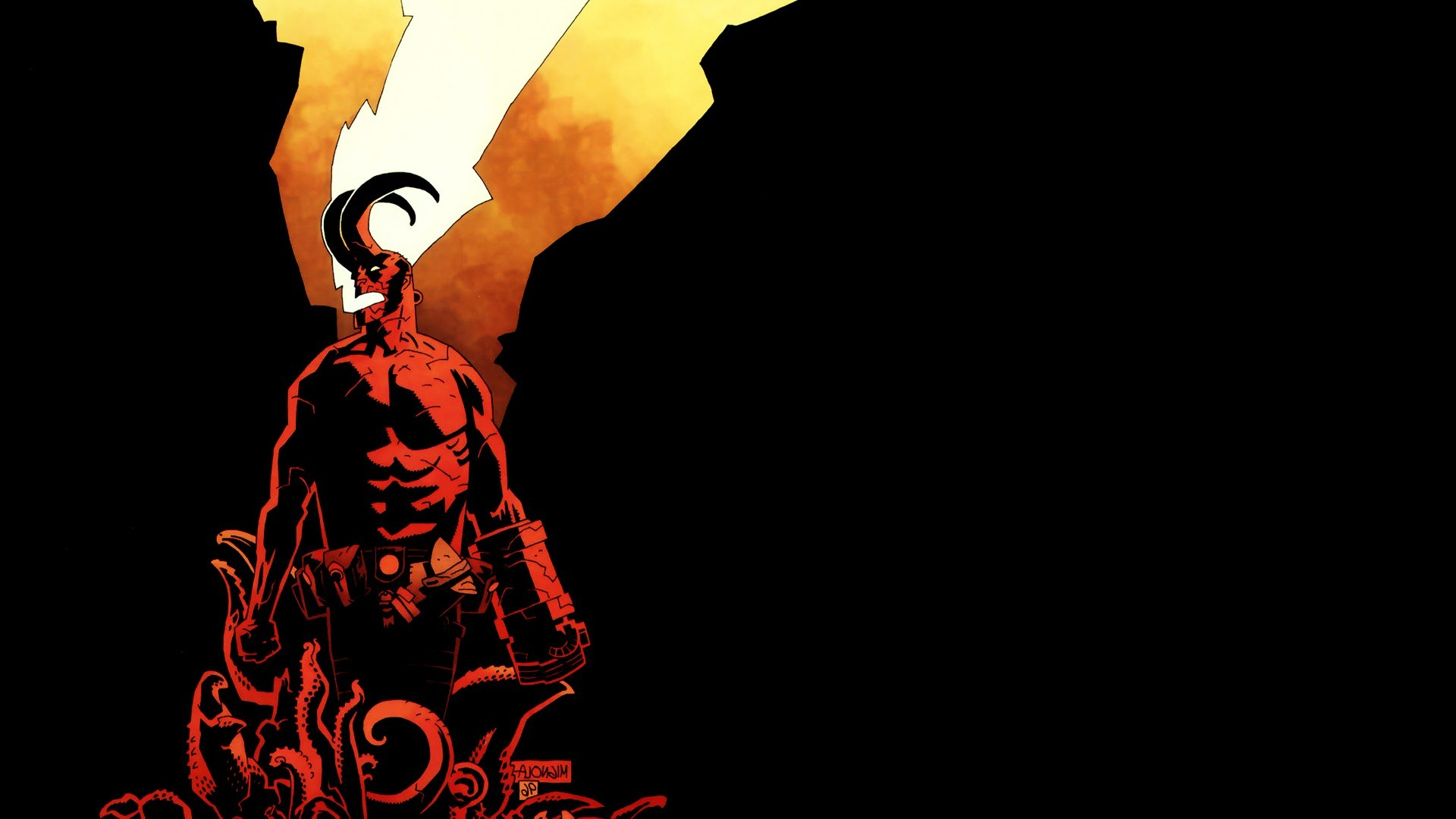 Hellboy, Comics Wallpapers HD / Desktop and Mobile Backgrounds