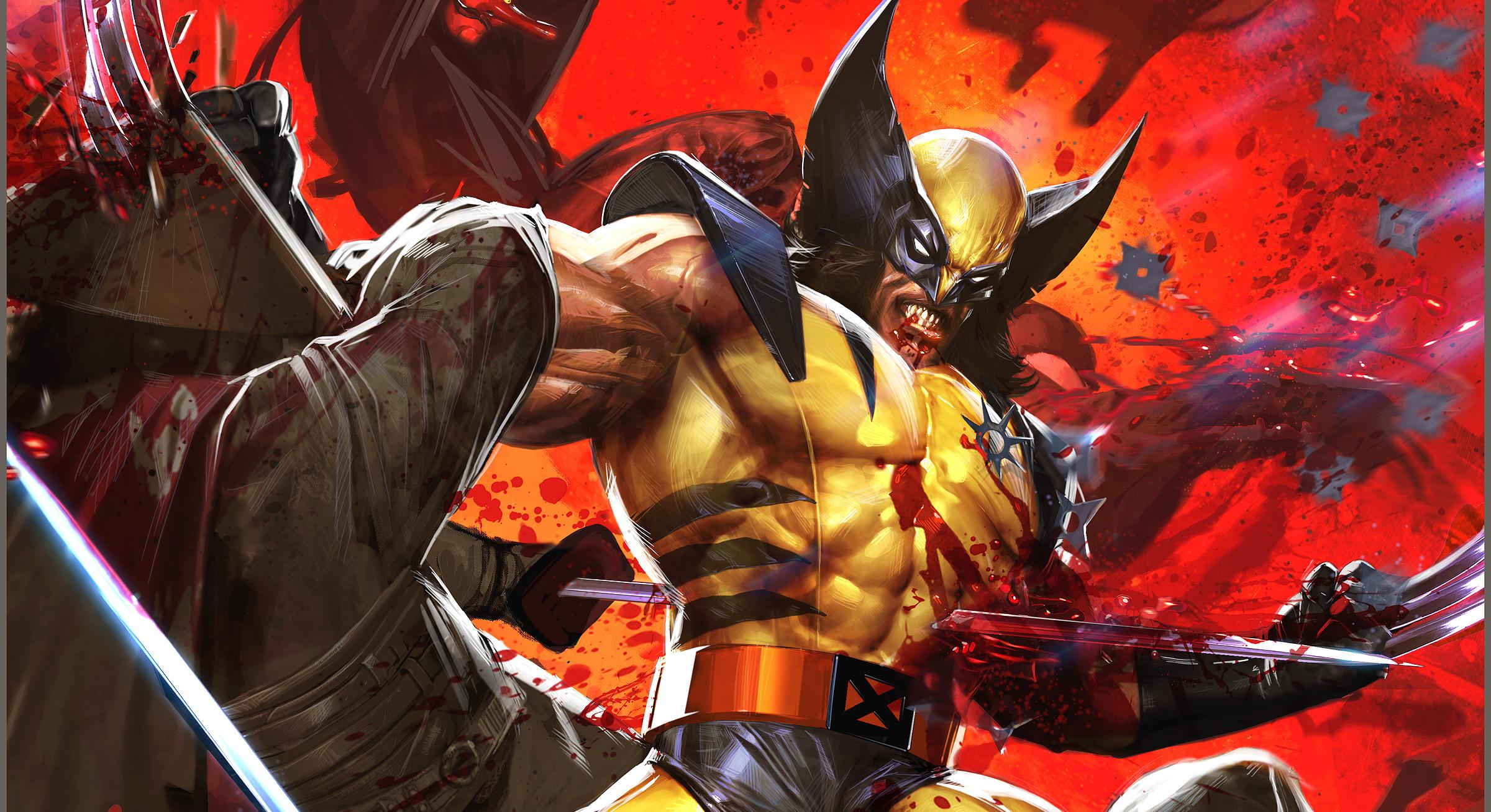 HD Wallpaper | Background ID:244387. Comics Wolverine