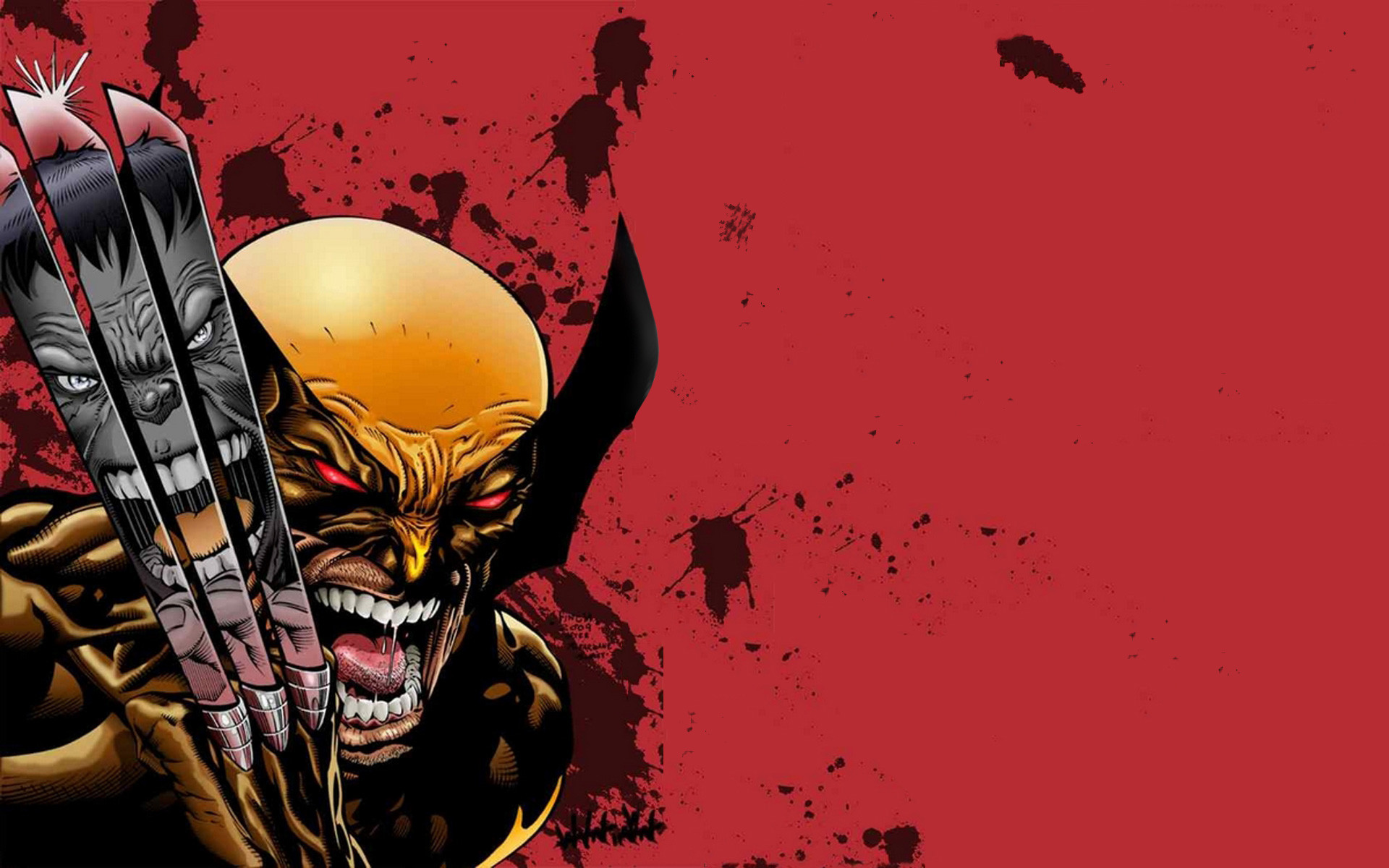 5 Ultimate Wolverine Vs. Hulk HD Wallpapers | Backgrounds – Wallpaper Abyss