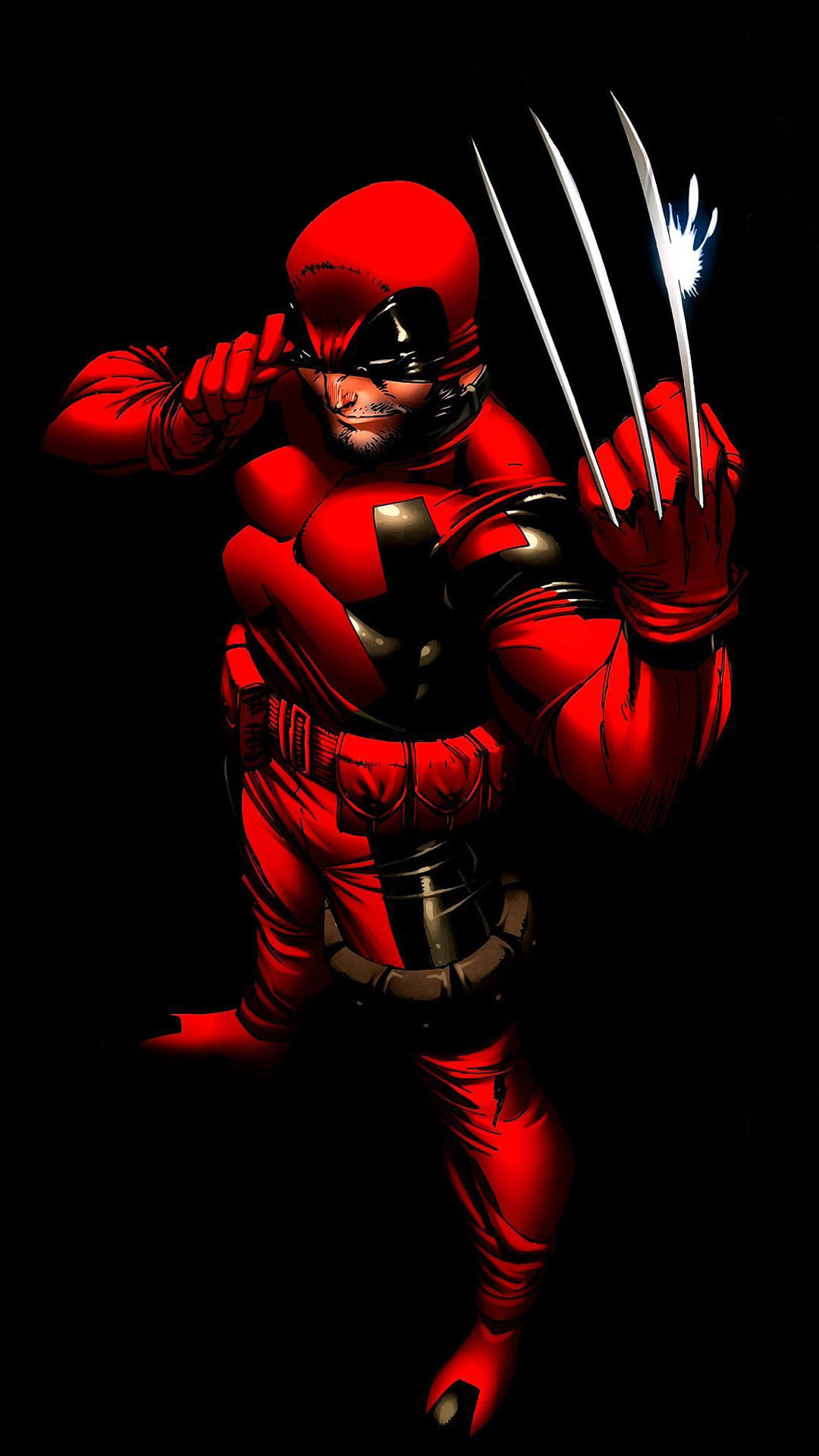 Capcom characters · Wolverine Comic mobile wallpaper
