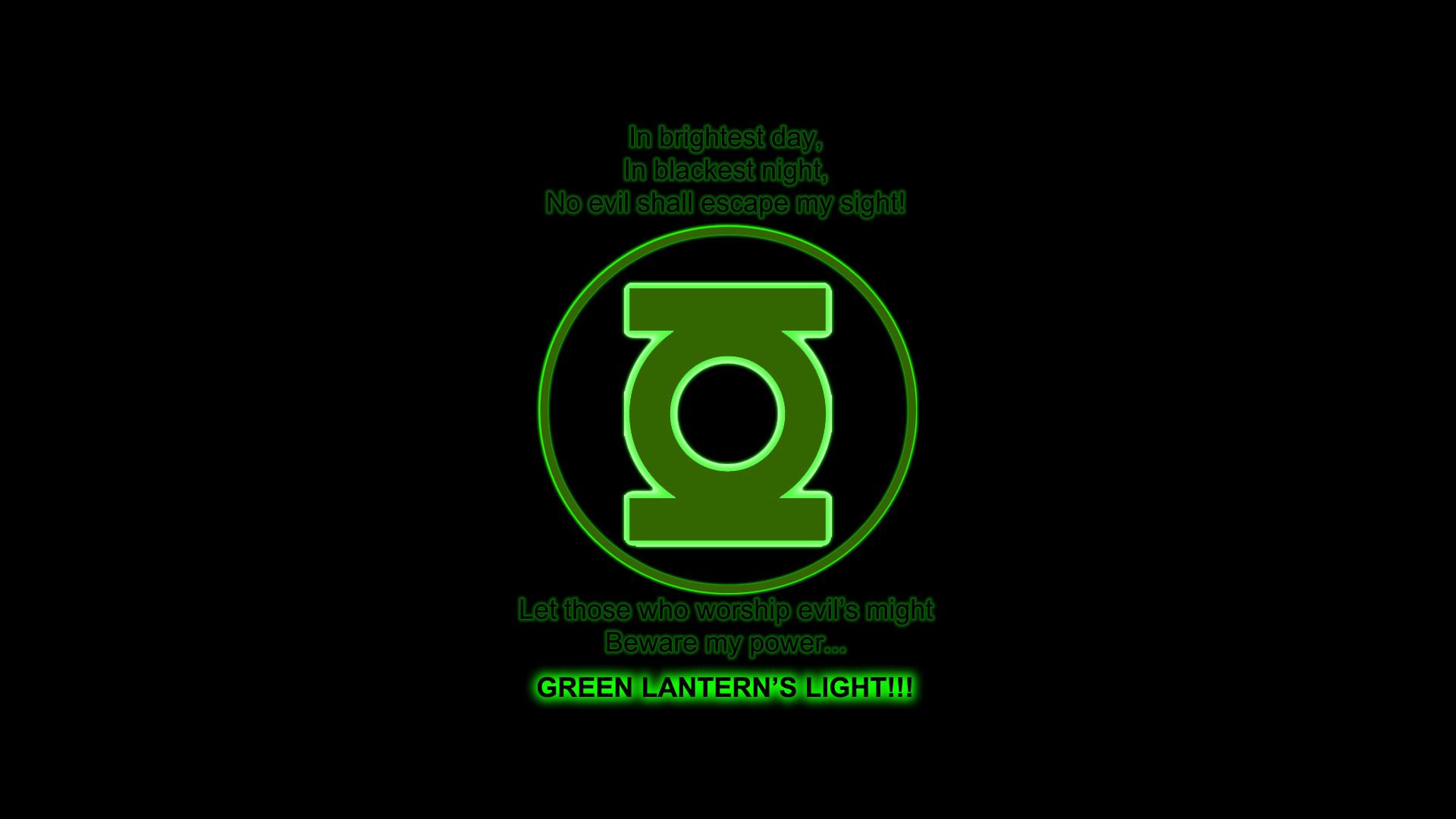 Green Lantern Wallpaper 1920×1080