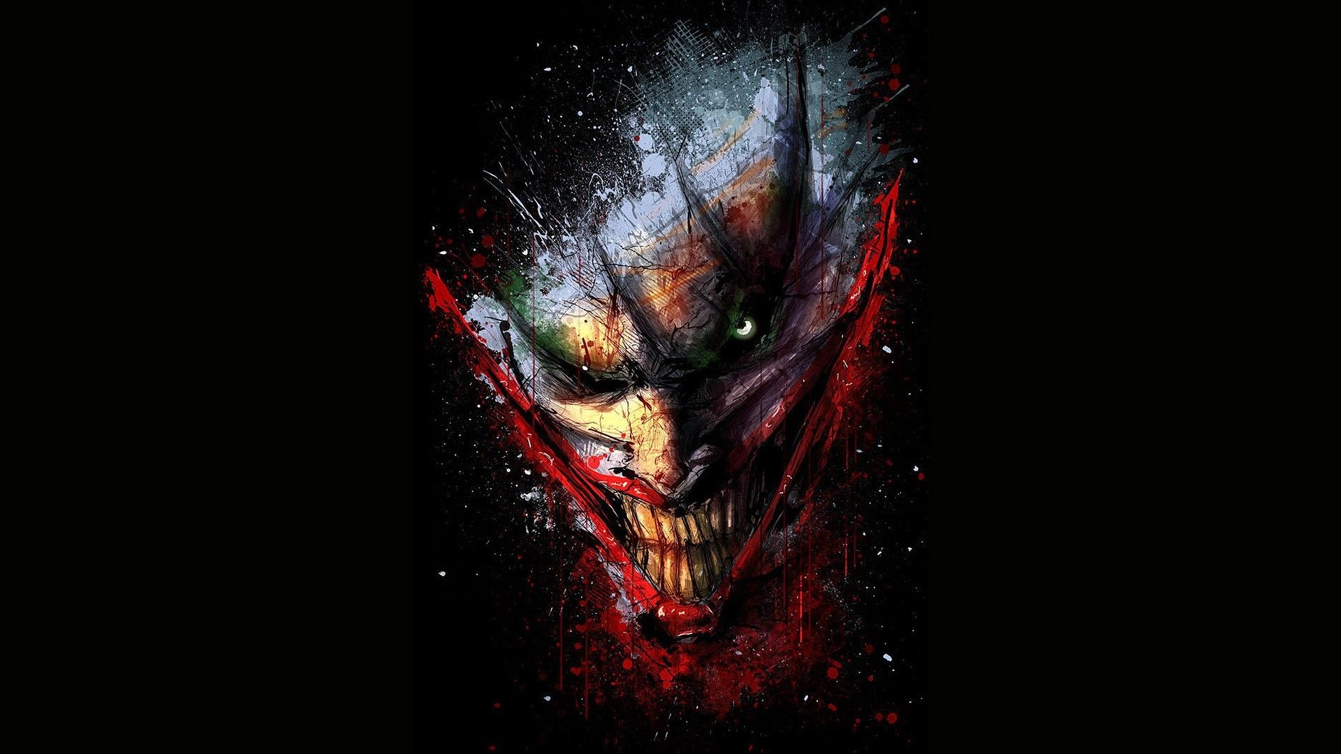 Joker Face iPhone & iPod Case by Thorin