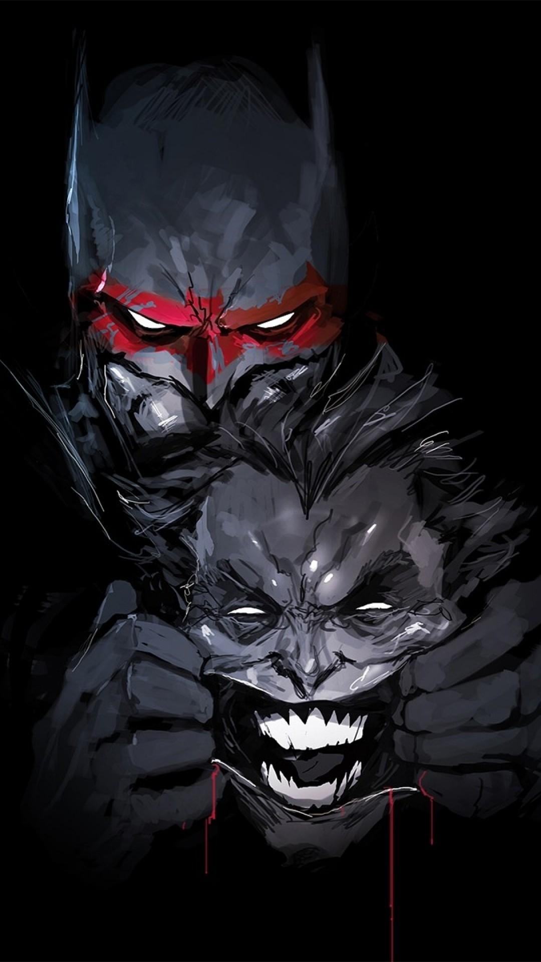 Batman, Joker, Dc Universe, Comics, Artwork
