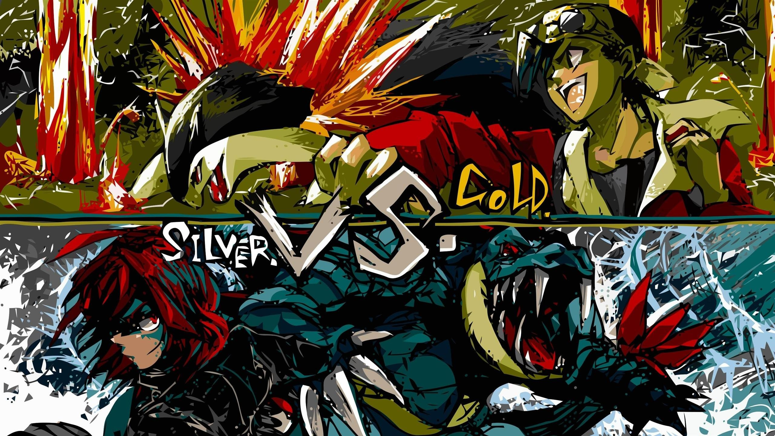 Gold Vs Silver Pokemon