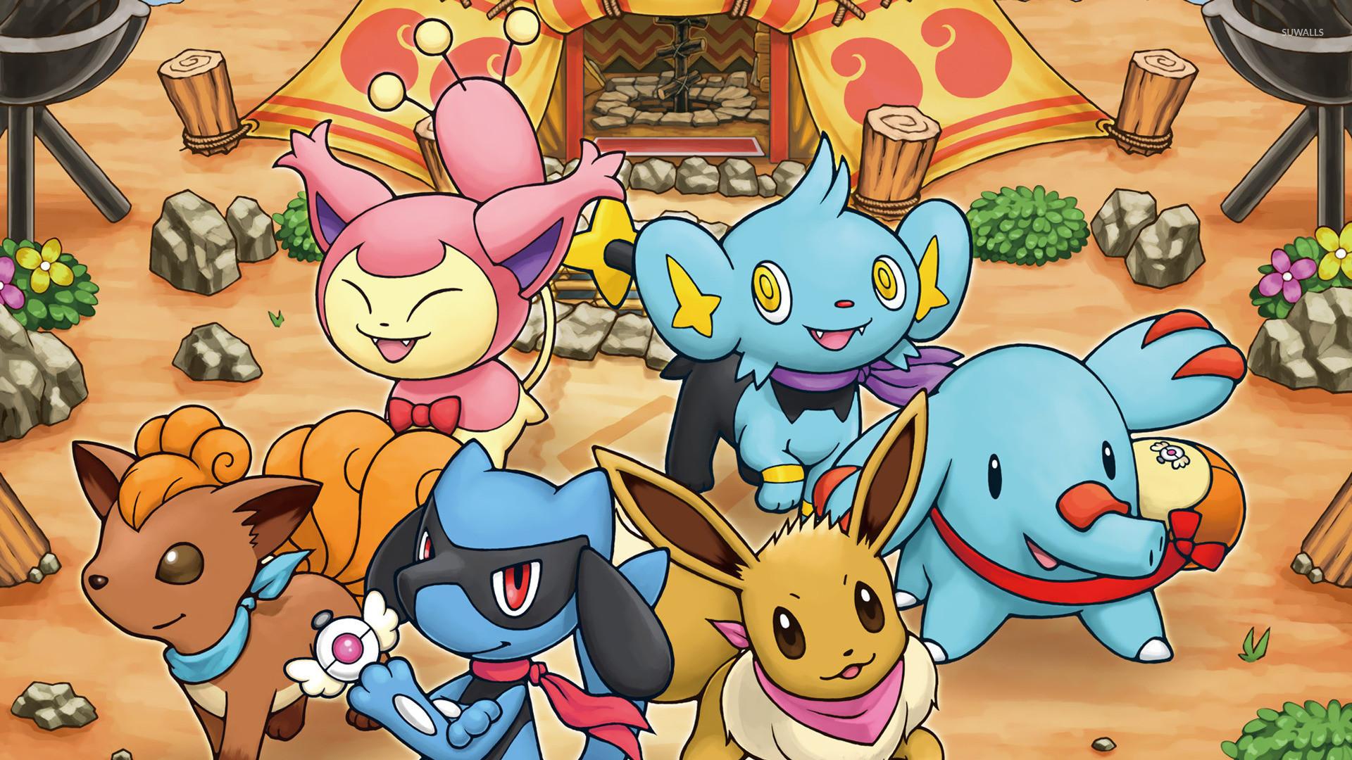 Pokemon Mystery Dungeon Backgrounds, HQ, Killian Goldin