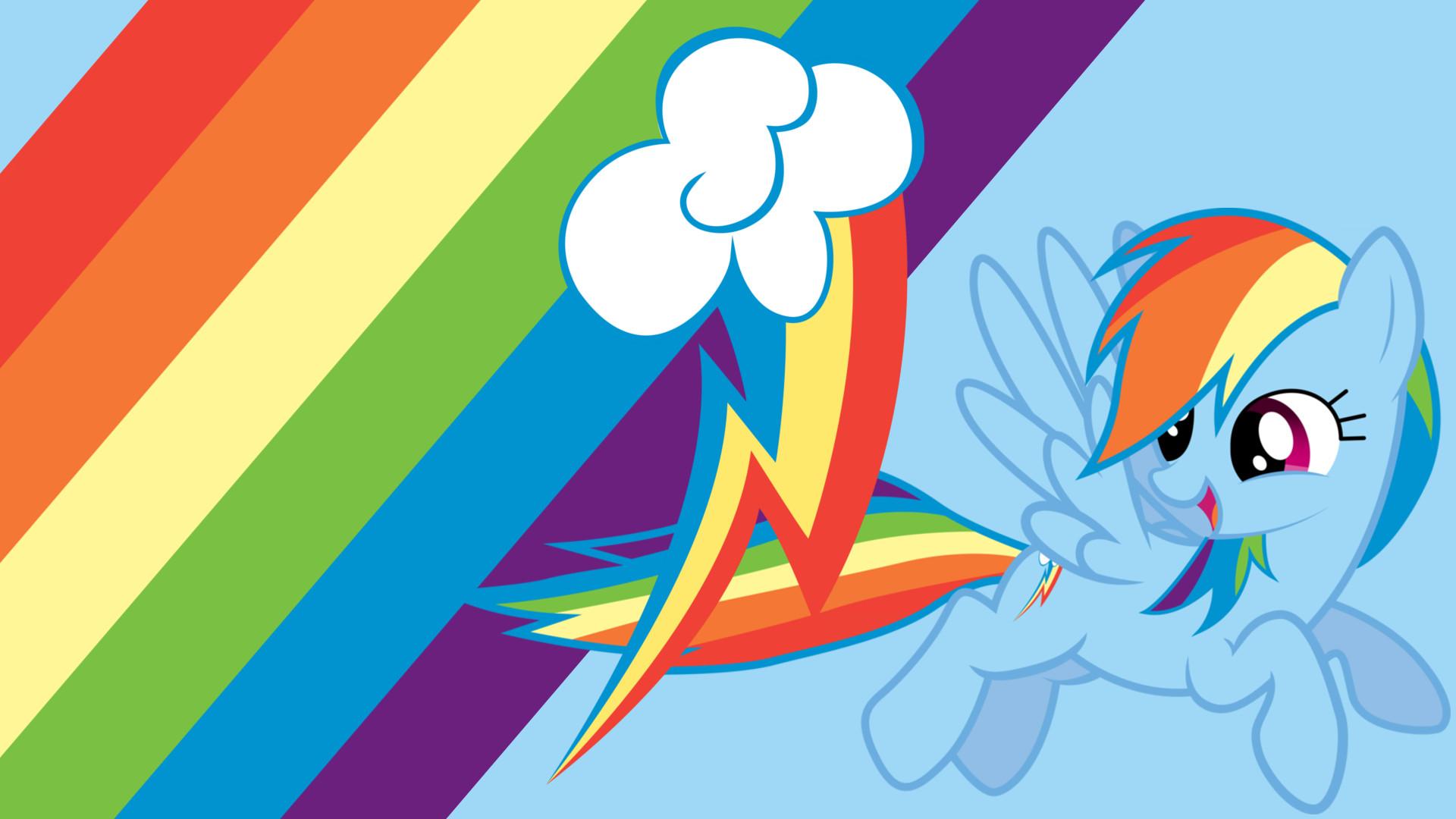 My Little Pony Rainbow Dash Wallpaper WallpaperSafari