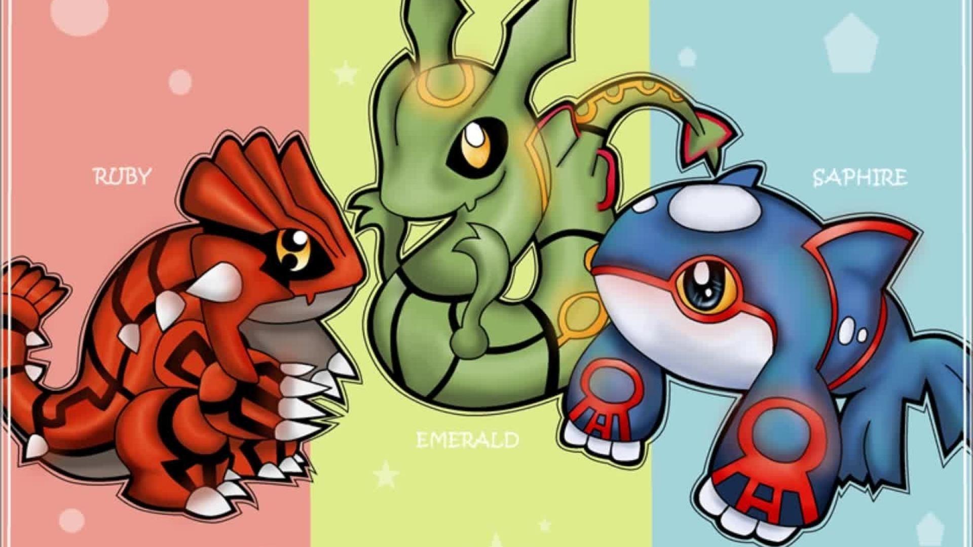 Pokemon kyogre rayquaza wallpaper | (57902)