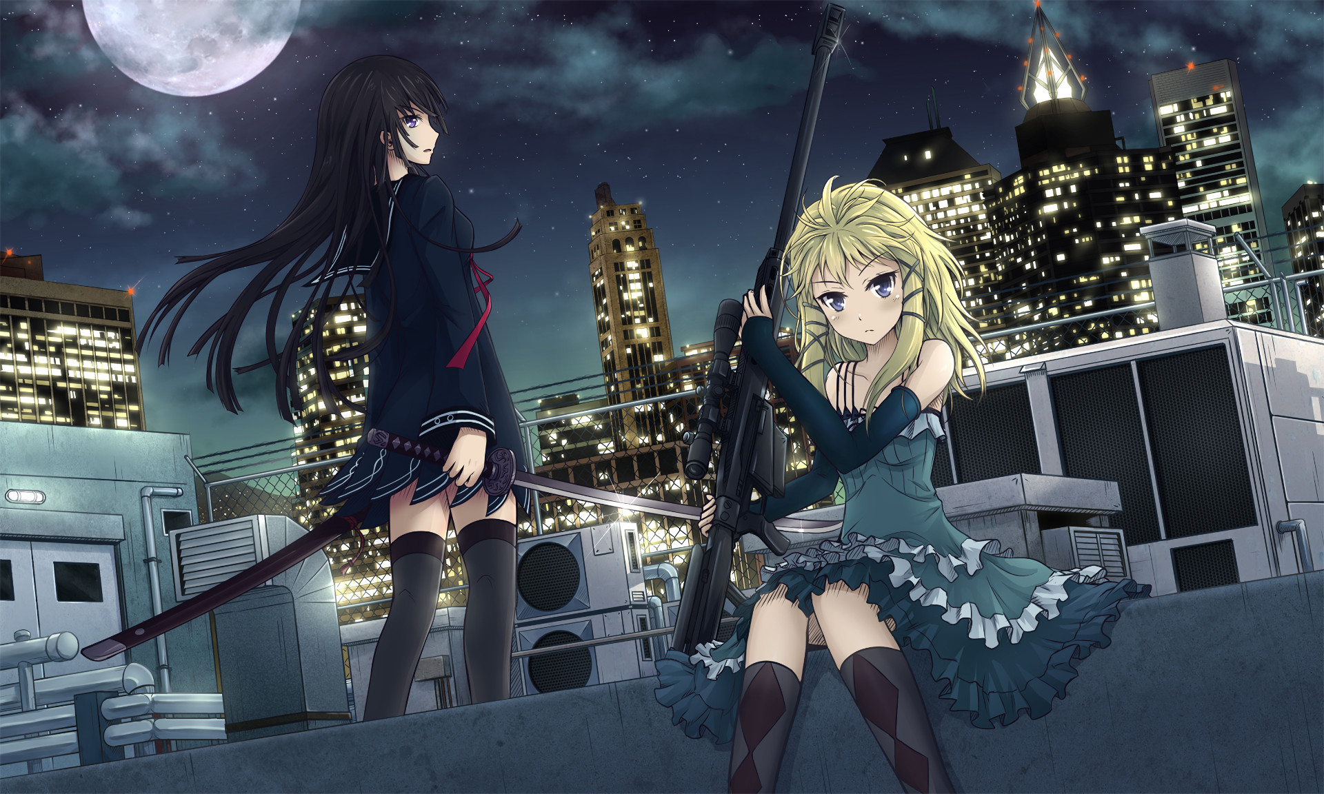 HD Wallpaper | Background ID:670846. Anime Black Bullet
