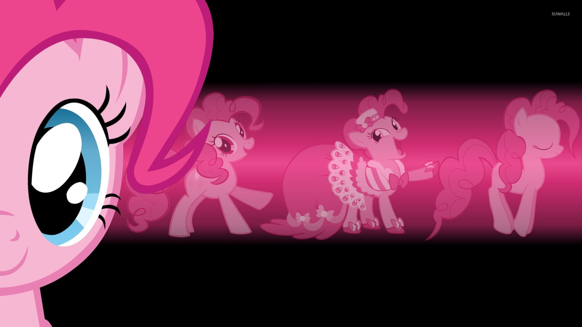 Pinkie Pie in a princess dress – My Little Pony wallpaper jpg