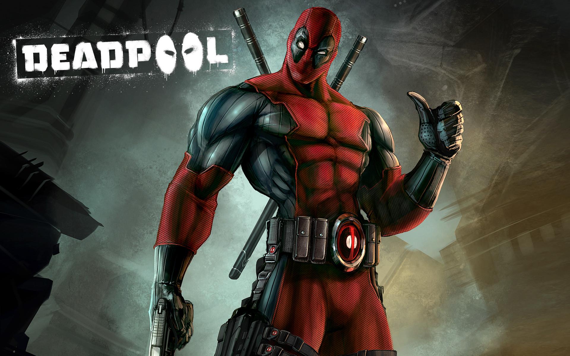 Heroes comics Deadpool superhero Games wallpaper background