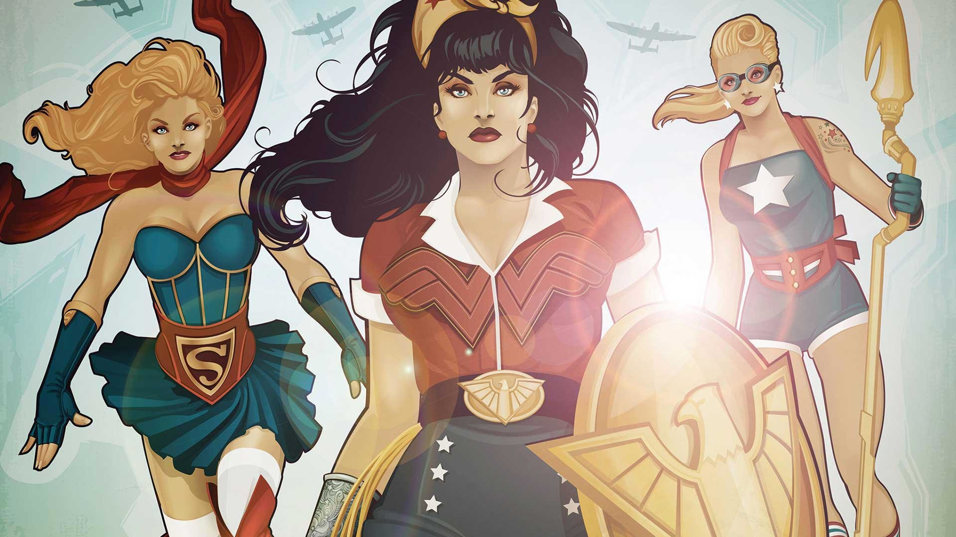 What's in the theme? This theme pack consists of several HD DC Bombshells  wallpapers …