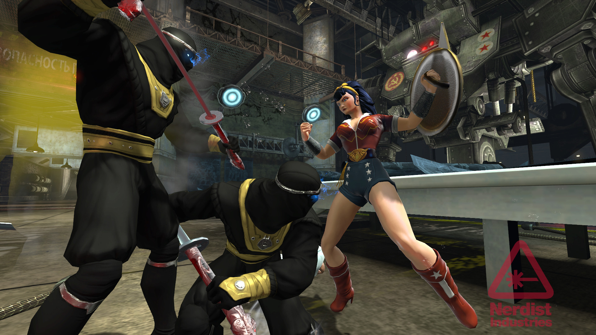 Exclusive: See Bombshells Harley Quinn and Supergirl in DC Universe Online  | Nerdist