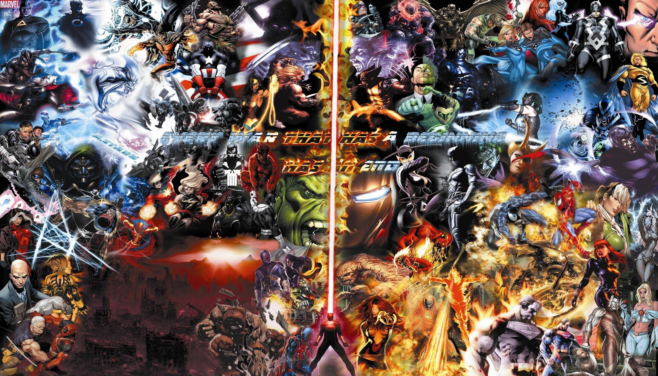 marvel comics | Marvel Comics Final War / Marvel & DC WALLPAPER 73  Charcaters