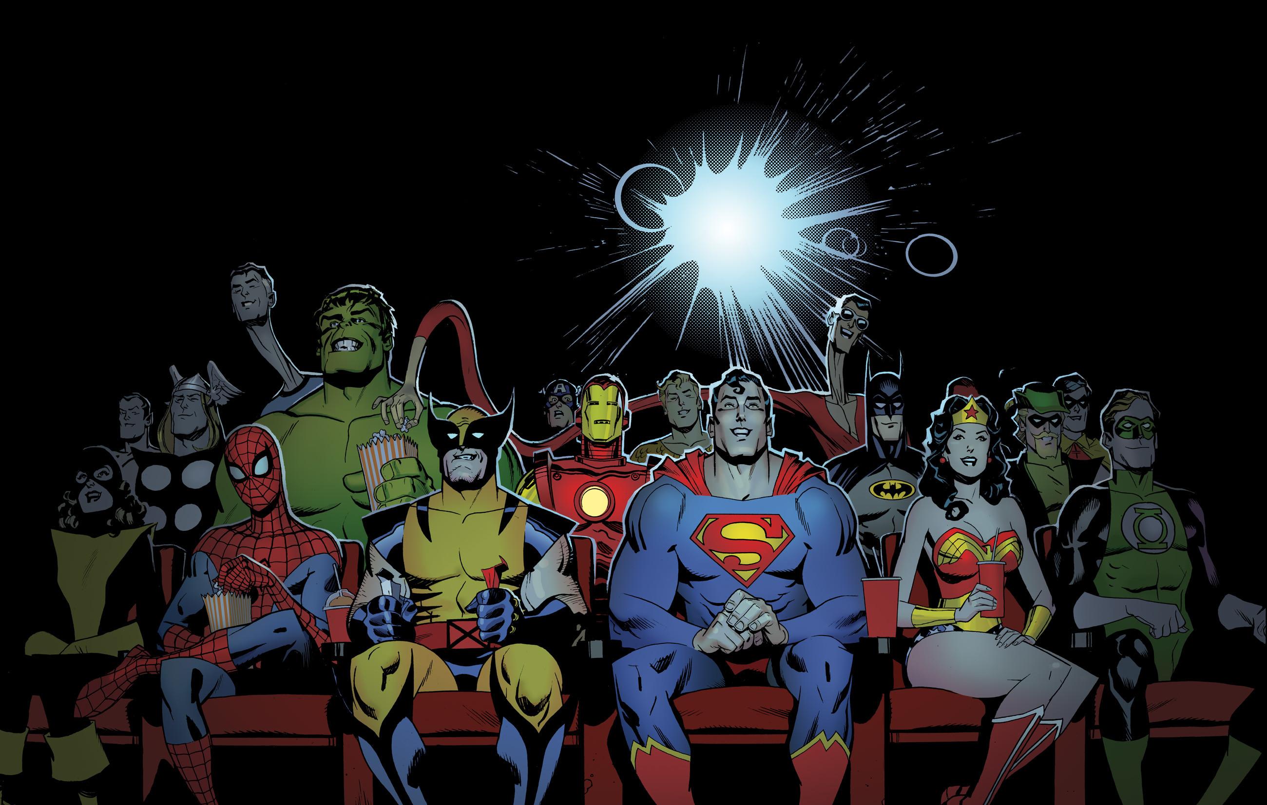 Marvel d-c dc-comics superhero wallpaper | | 166991 .