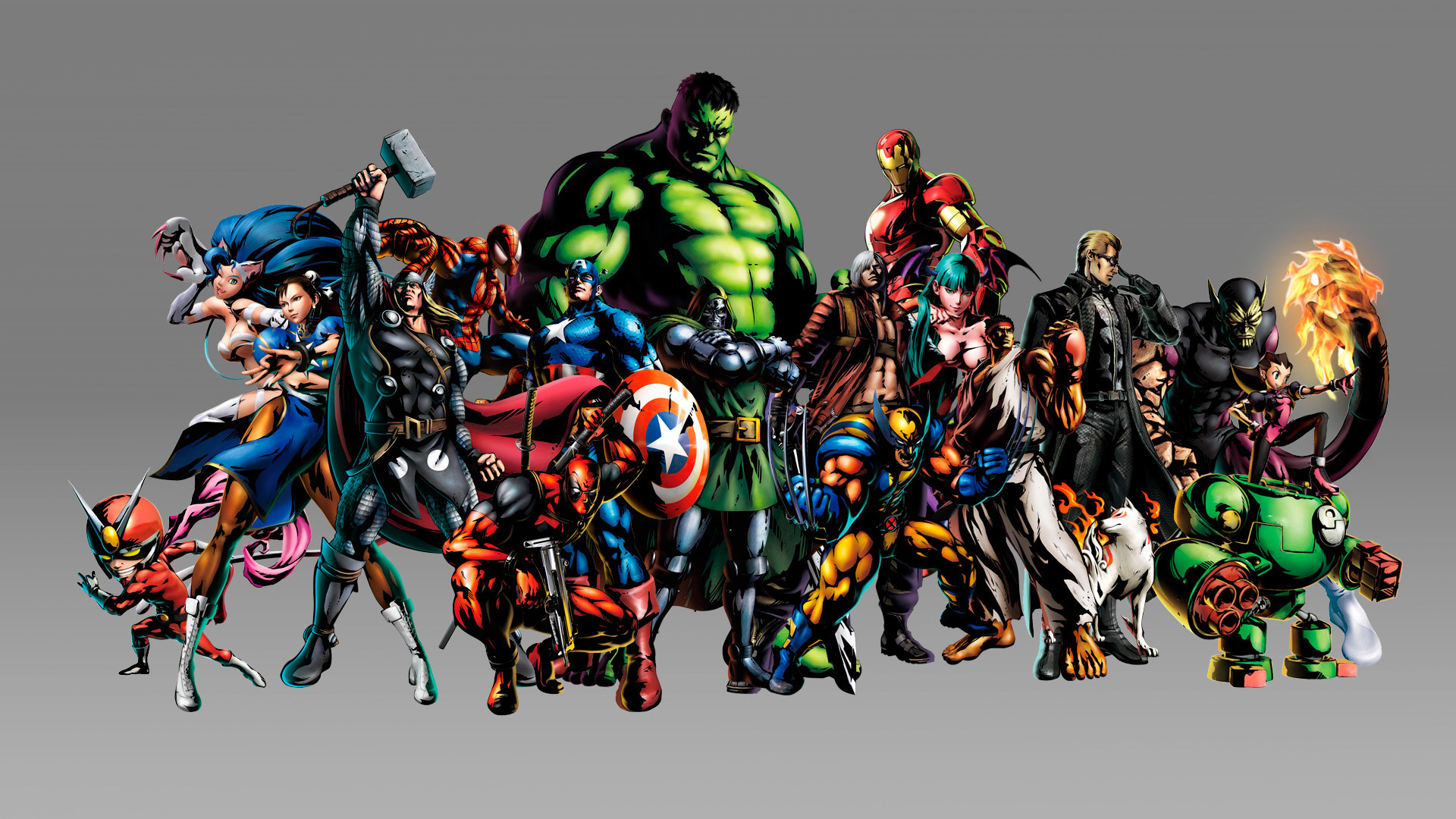 Wallpapers For > Marvel Wallpaper Hd 1920×1080
