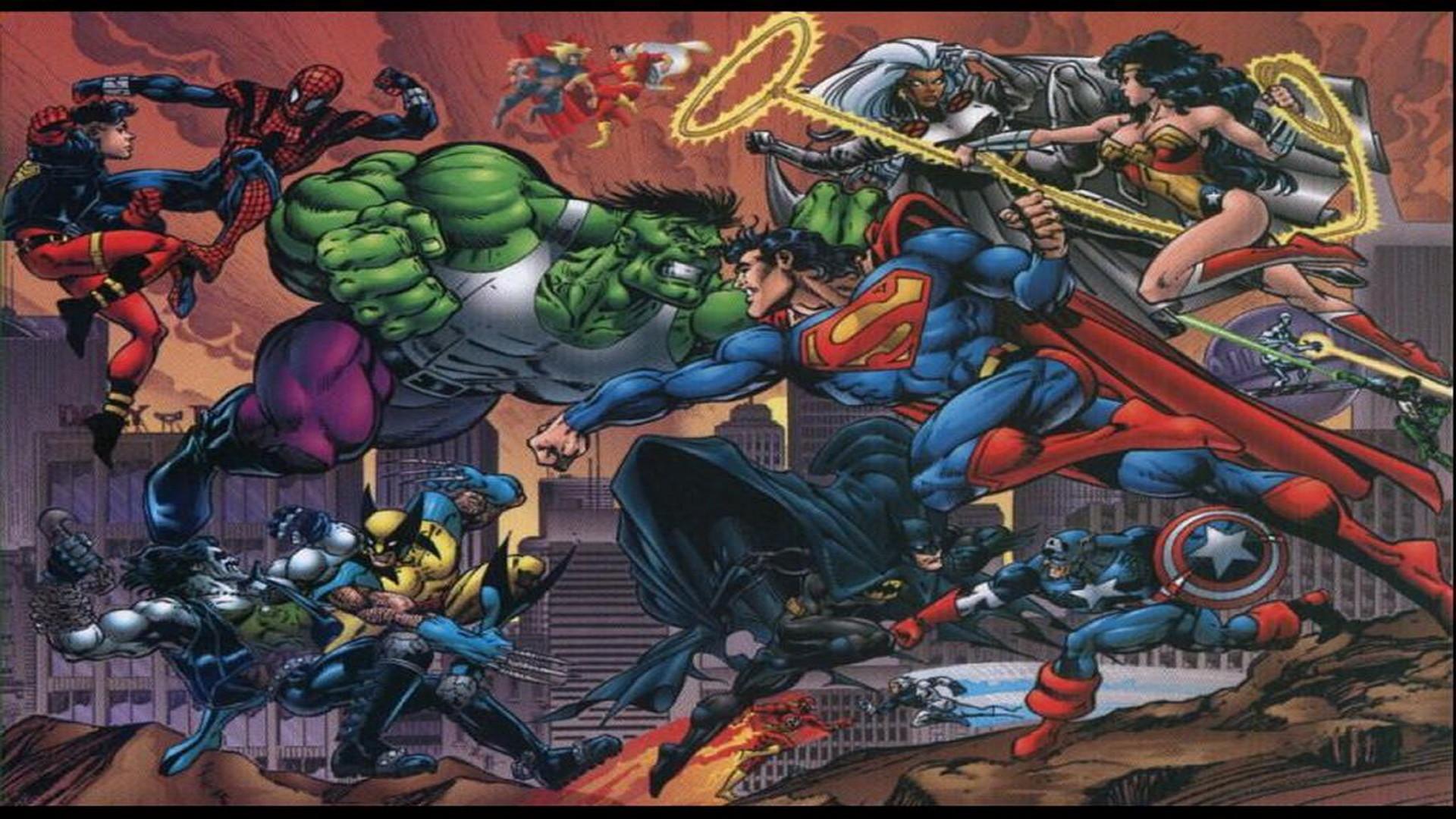 Comics Wallpapers, HD Desktop Wallpapers, Marvel vs DC marvel comics .