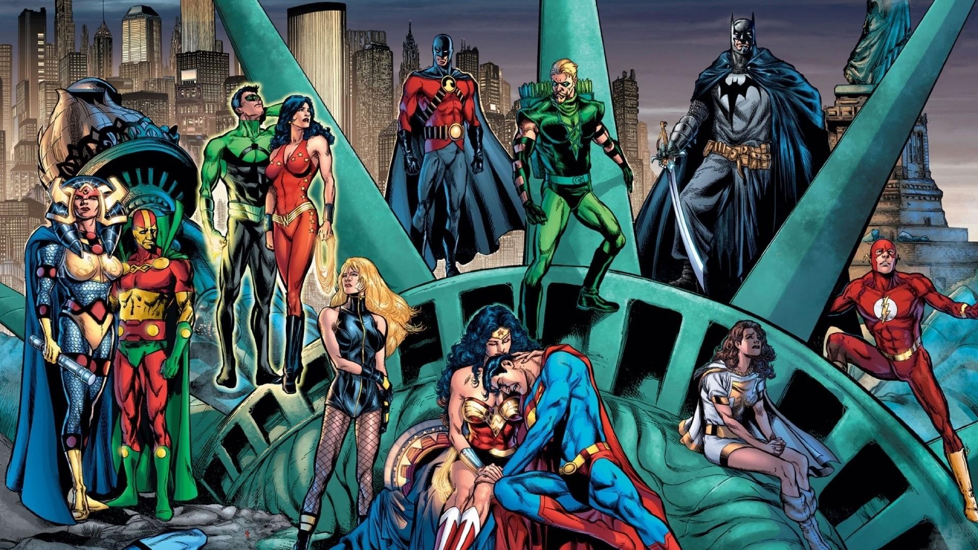 DC Comics Characters | DC Comics Characters Wallpaper 1920×1080