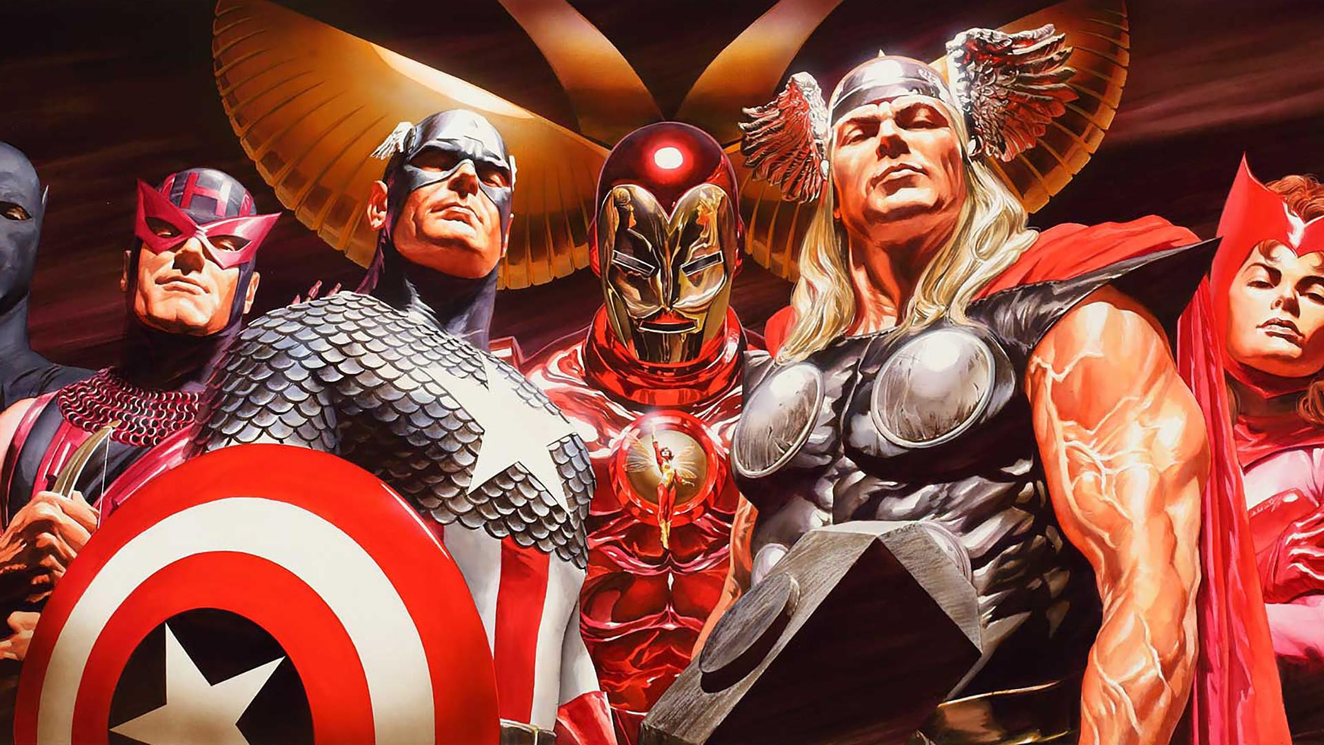 Surreal Art of Alex Ross (Marvel/DC) – Wallpaper Edition (1920×1080)