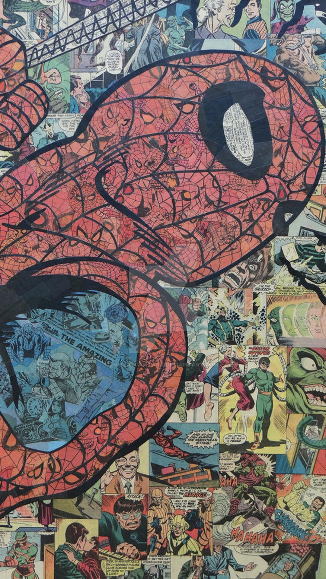 Marvel dc comics · Phone wallpaper from Zedge – Spiderman comic