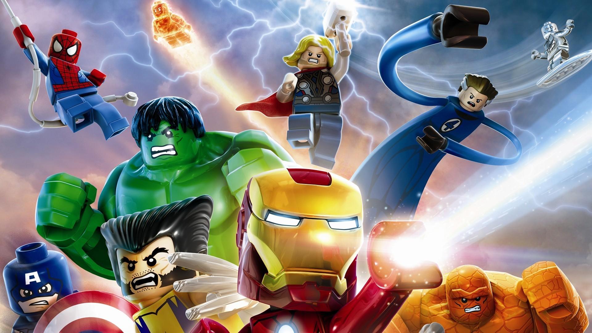 Lego Marvel Superheroes Hulk and Captain America Wallpaper | game hd  wallpaper | Pinterest | Captain america wallpaper, Lego marvel and Hulk