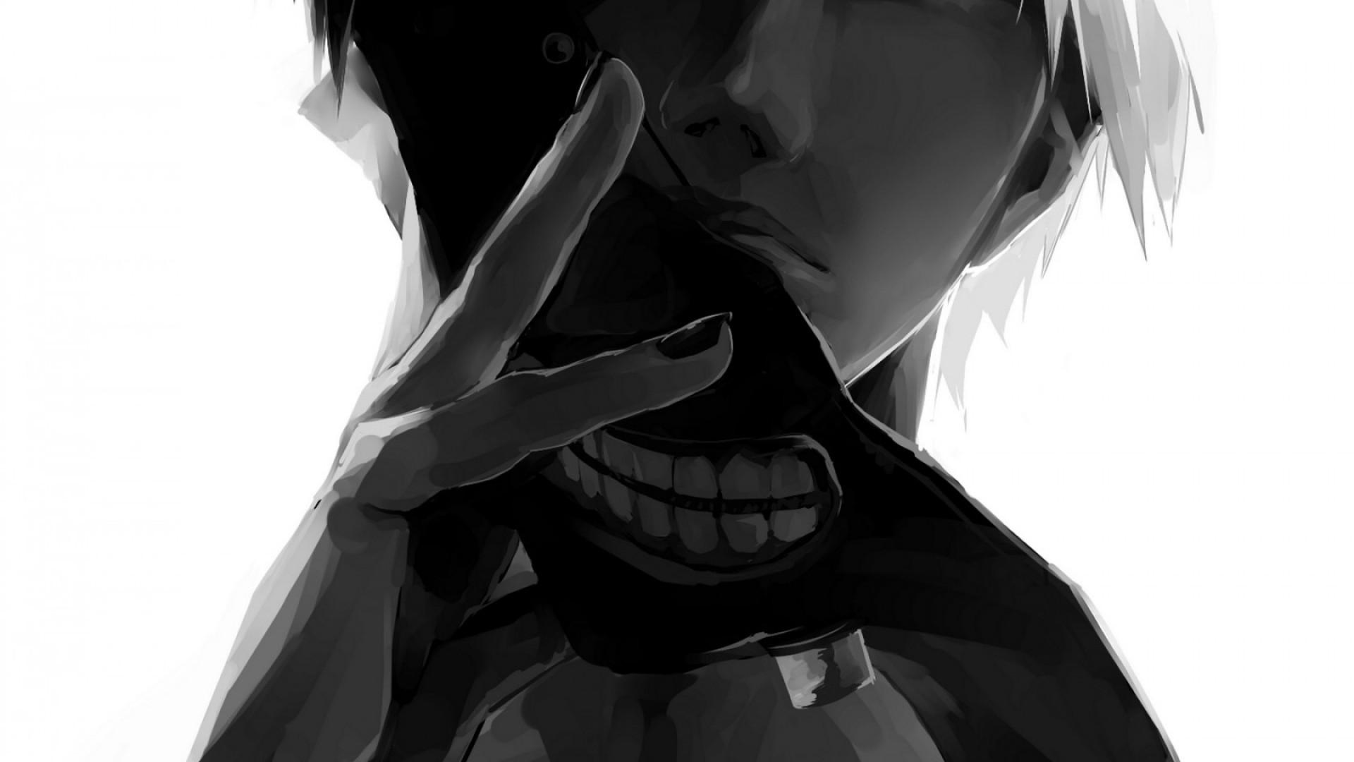 Wallpaper tokyo ghoul, kaneki ken, man, mask