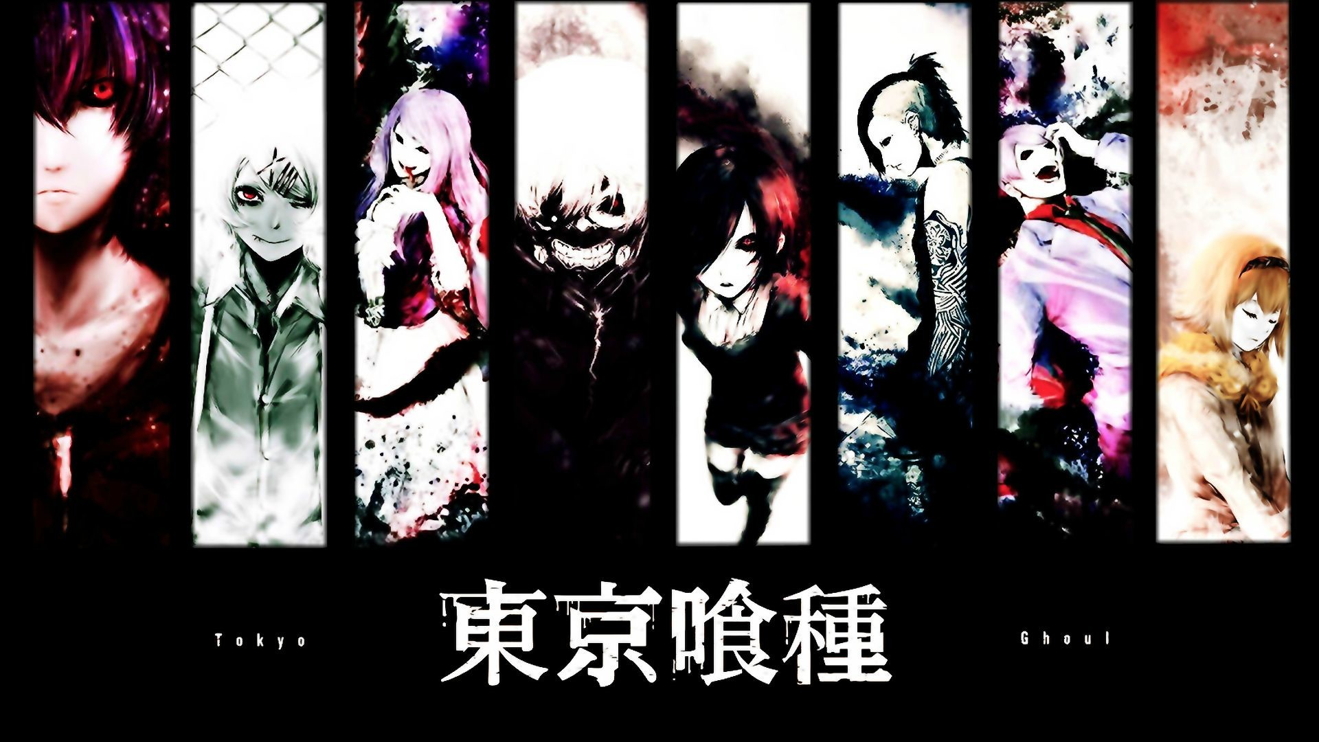 My favorite Tokyo Ghoul wallpaper …