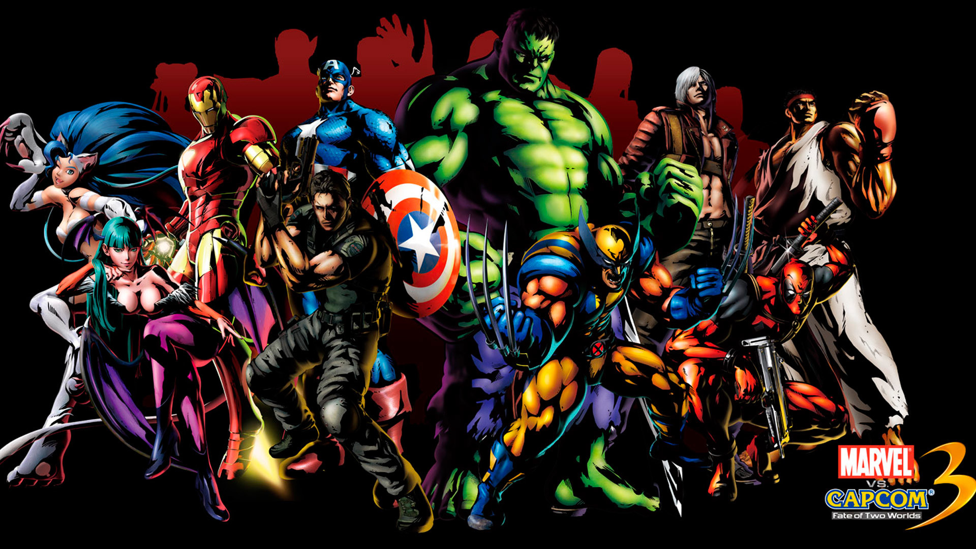 Images For > Marvel Heroes And Villains Wallpaper