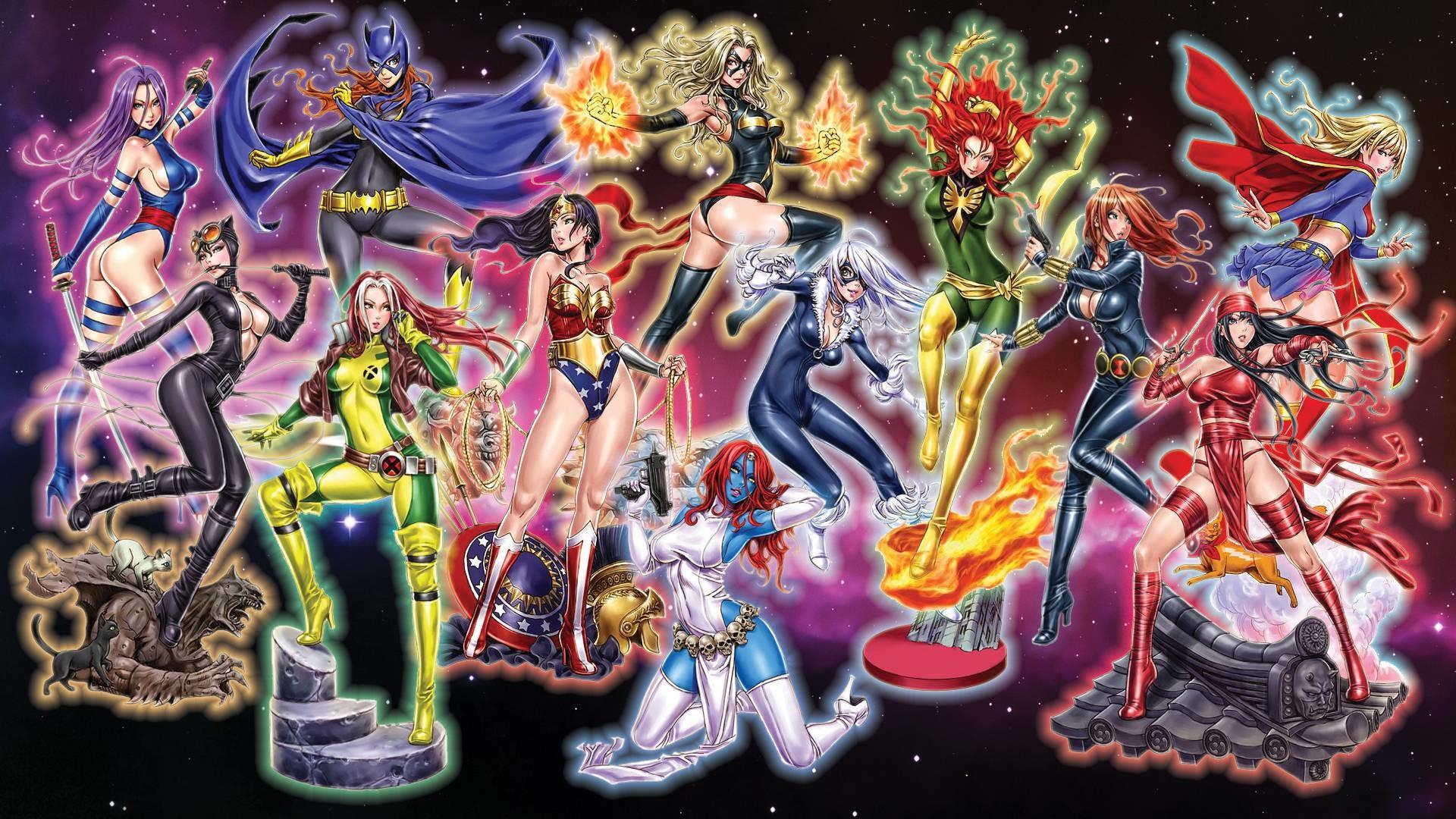 Marvel vs Dc by songoku223 on Wallpaper   Hot HD Wallpaper
