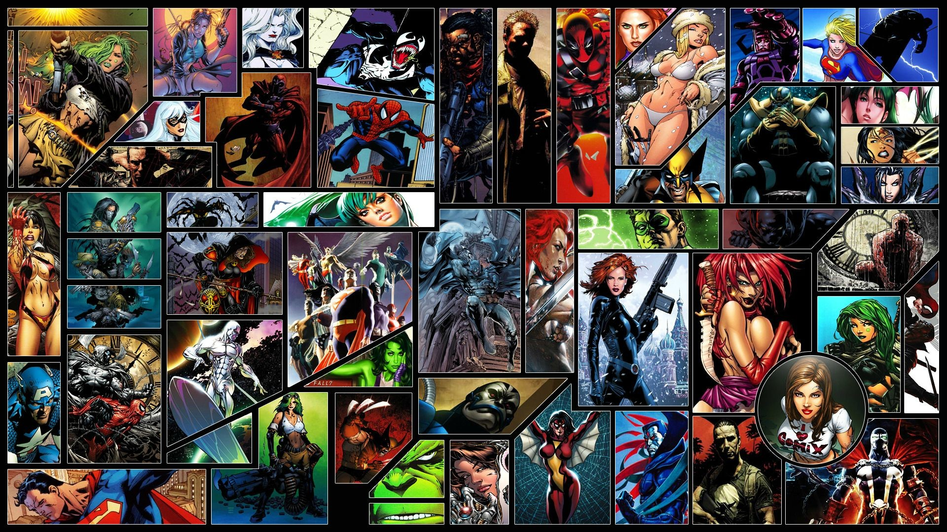 Comic Book Wallpapers For Everybody!