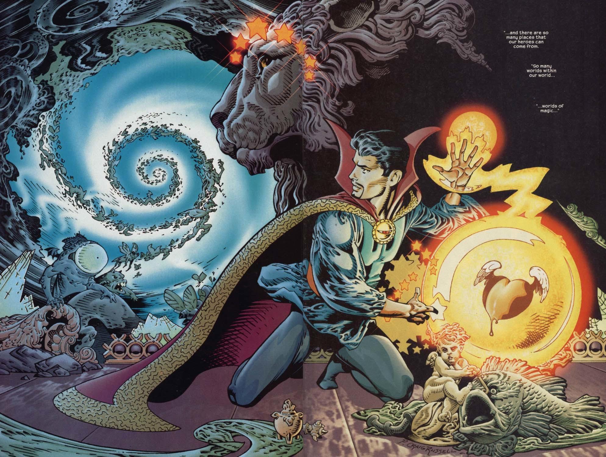 "Doctor Strange wallpaper ""vortex"""